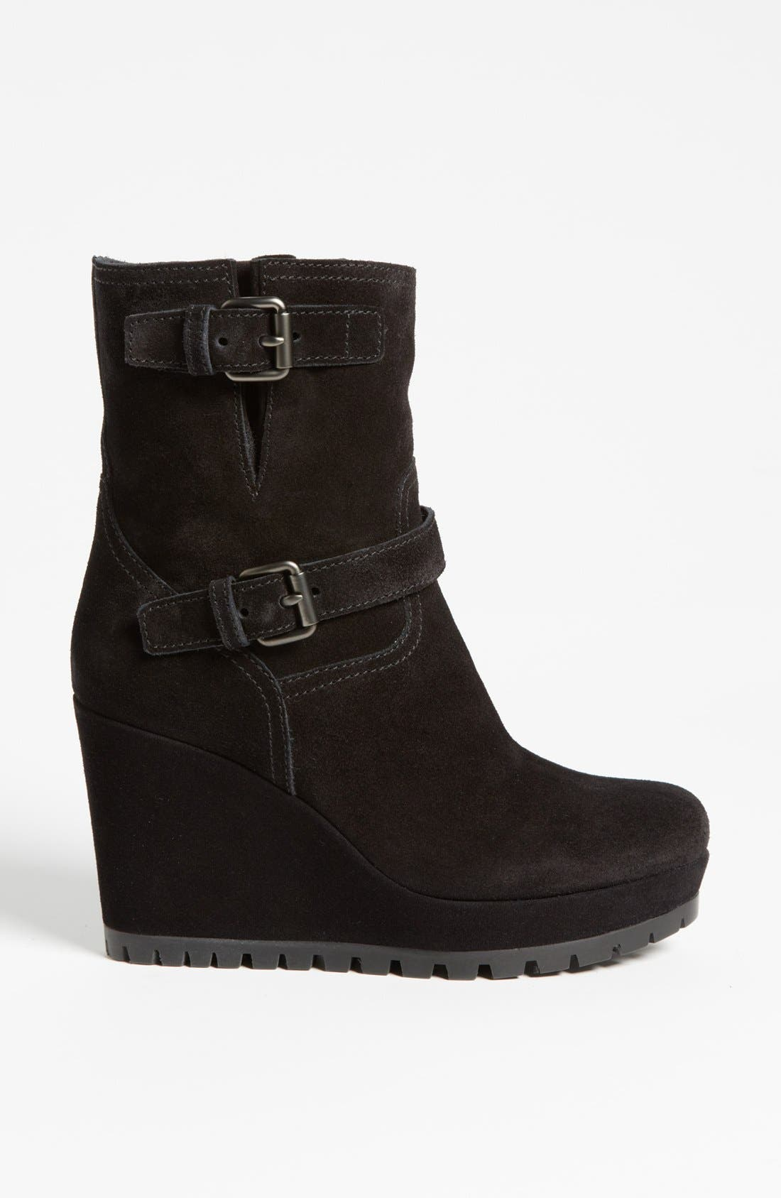 Alternate Image 4  - Prada Wedge Boot