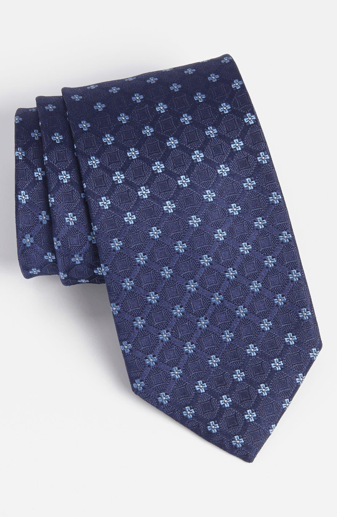 Alternate Image 1 Selected - BOSS HUGO BOSS Woven Silk Tie