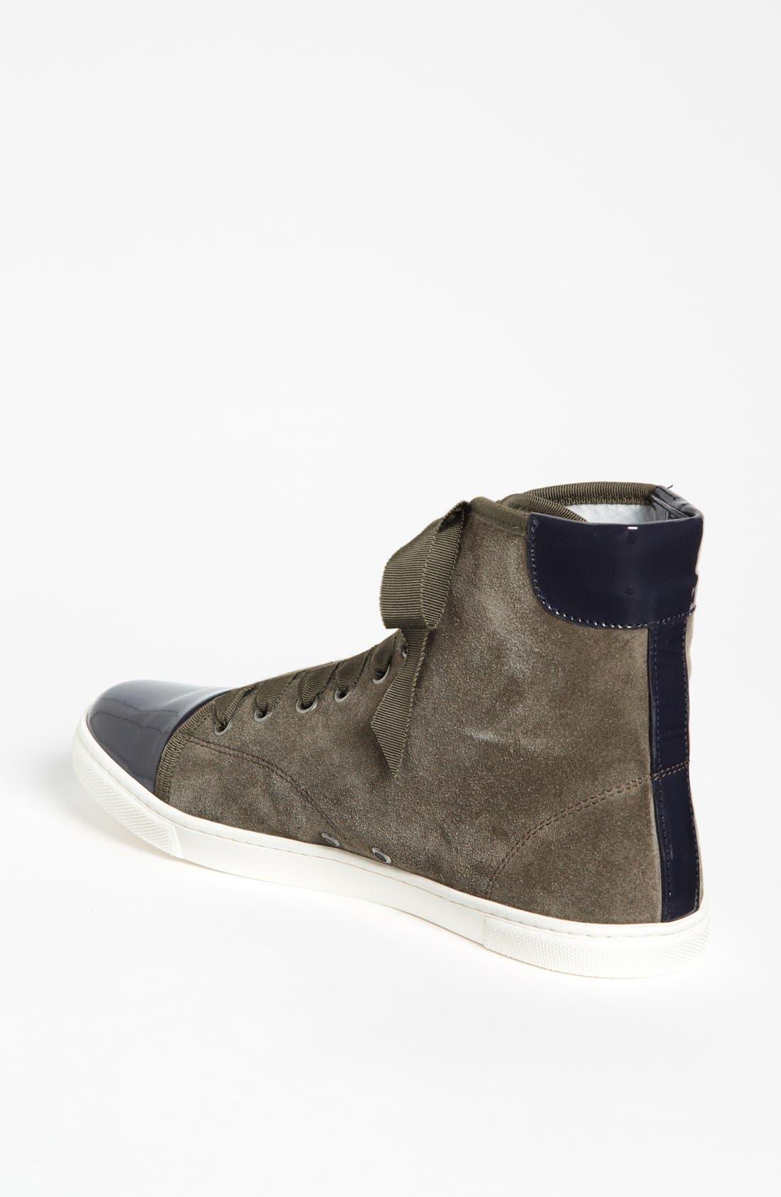 Alternate Image 2  - Lanvin High Top Sneaker