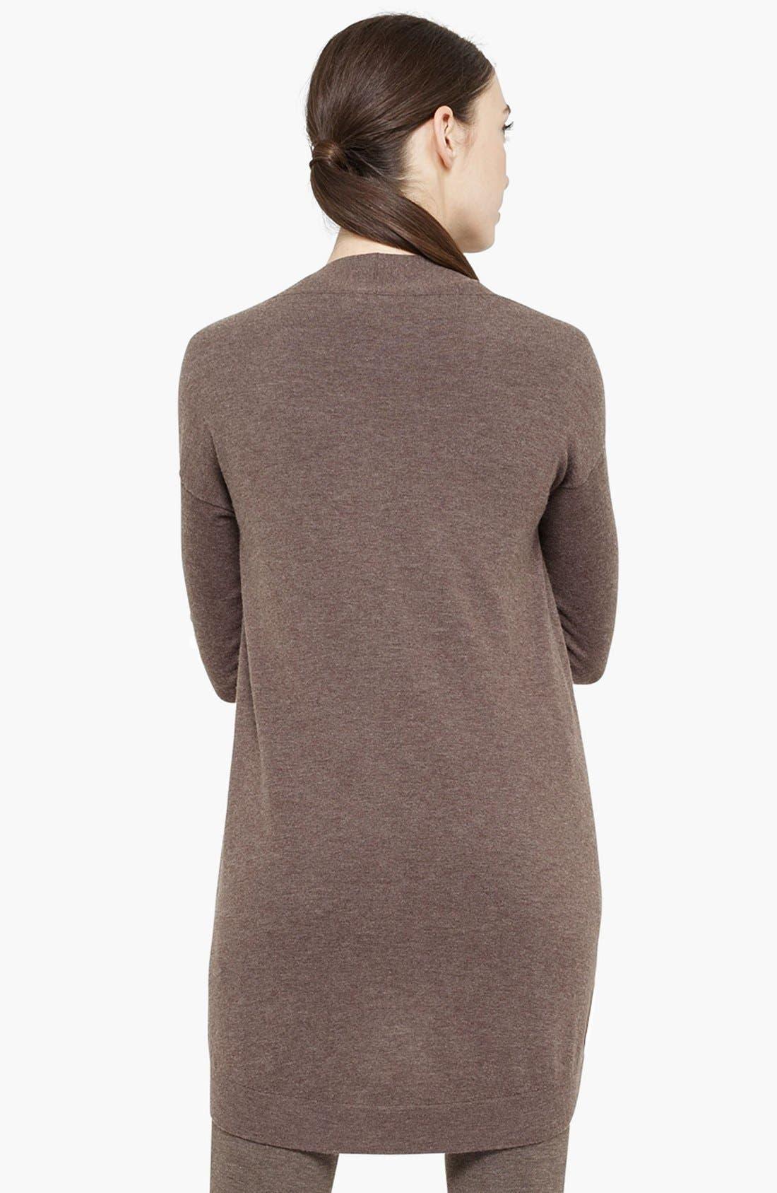 Alternate Image 3  - Akris punto Long Wool & Cashmere Cardigan