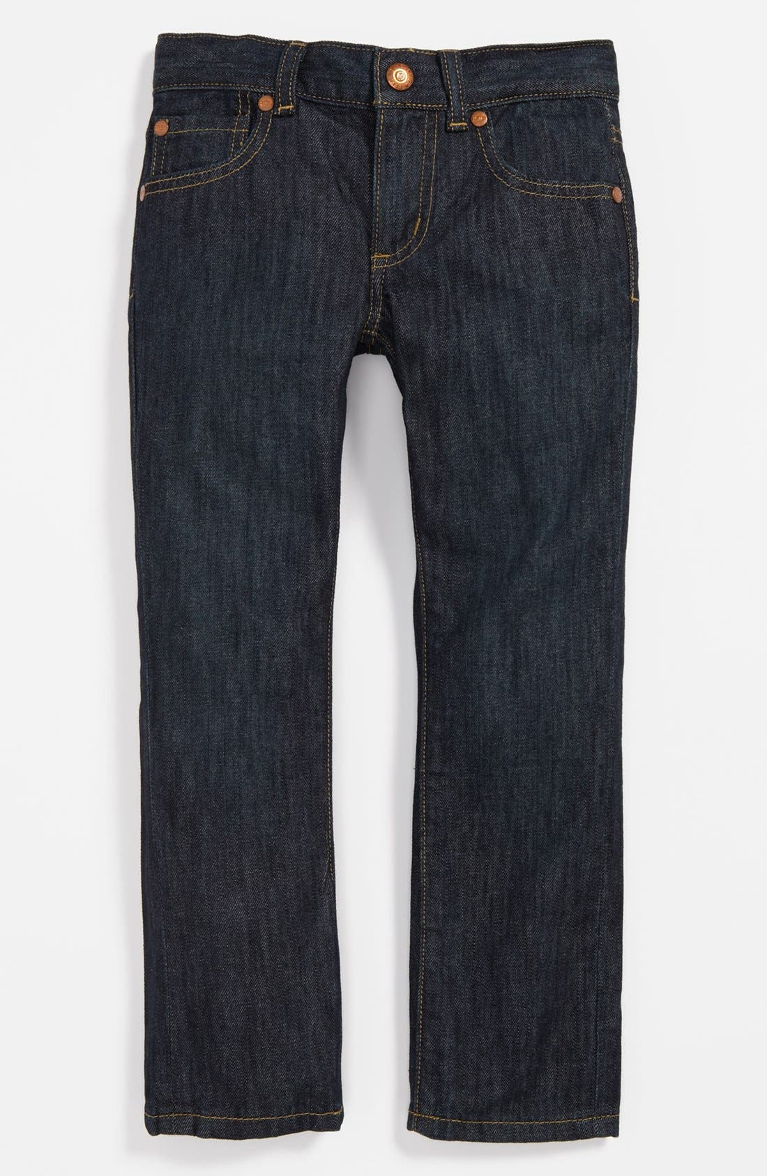 Alternate Image 2  - Peek 'Slouch' Jeans (Toddler Boys, Little Boys & Big Boys)