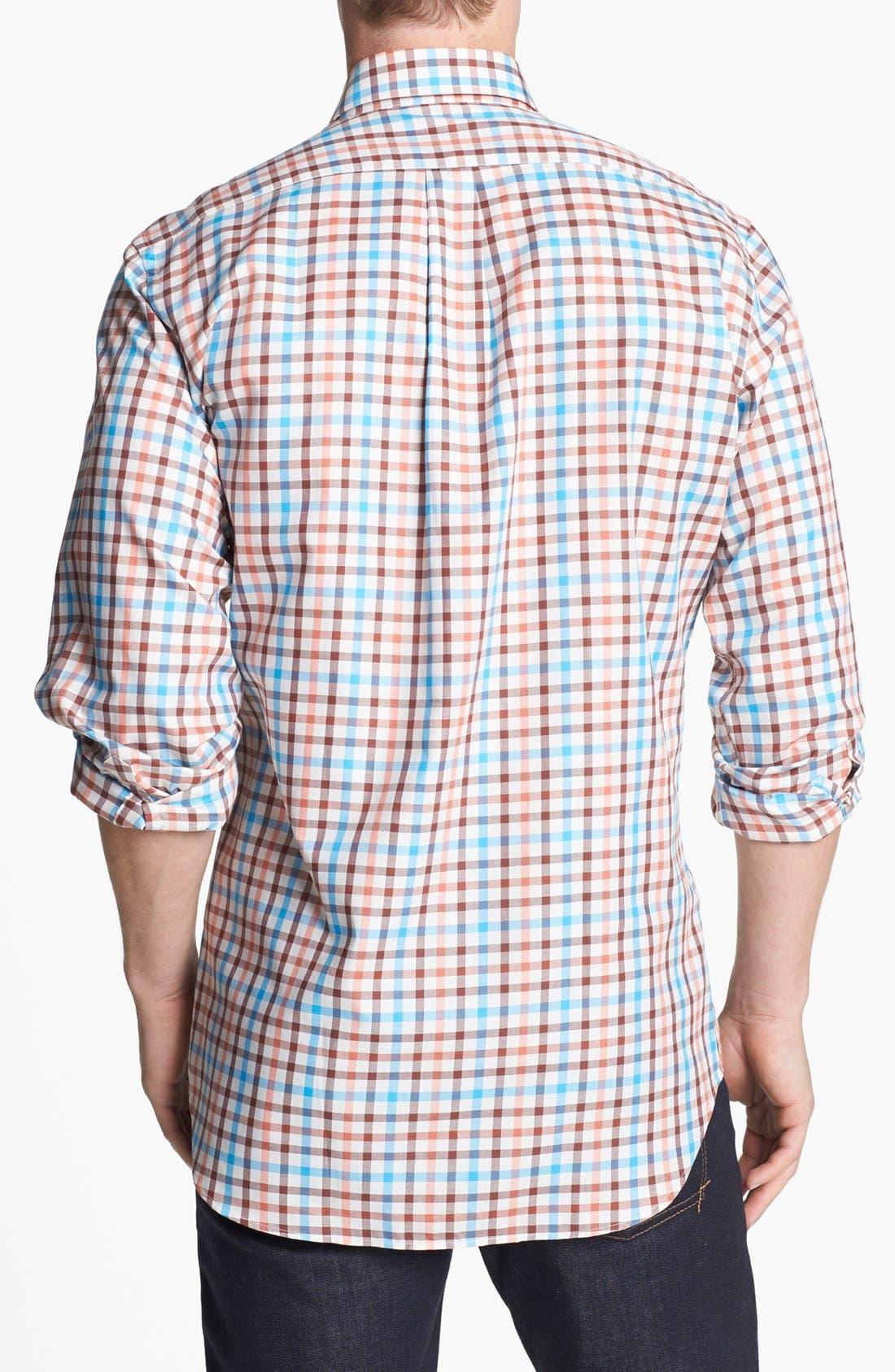 Alternate Image 2  - Peter Millar 'Provence' Regular Fit Sport Shirt