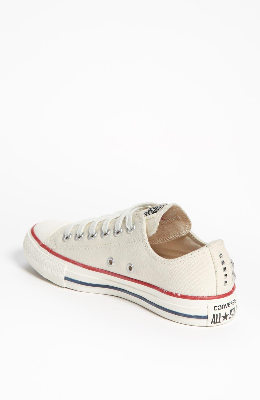 Alternate Image 2  - Converse Chuck Taylor® All Star® 'Collar Studs' Sneaker (Women) (Online Only)