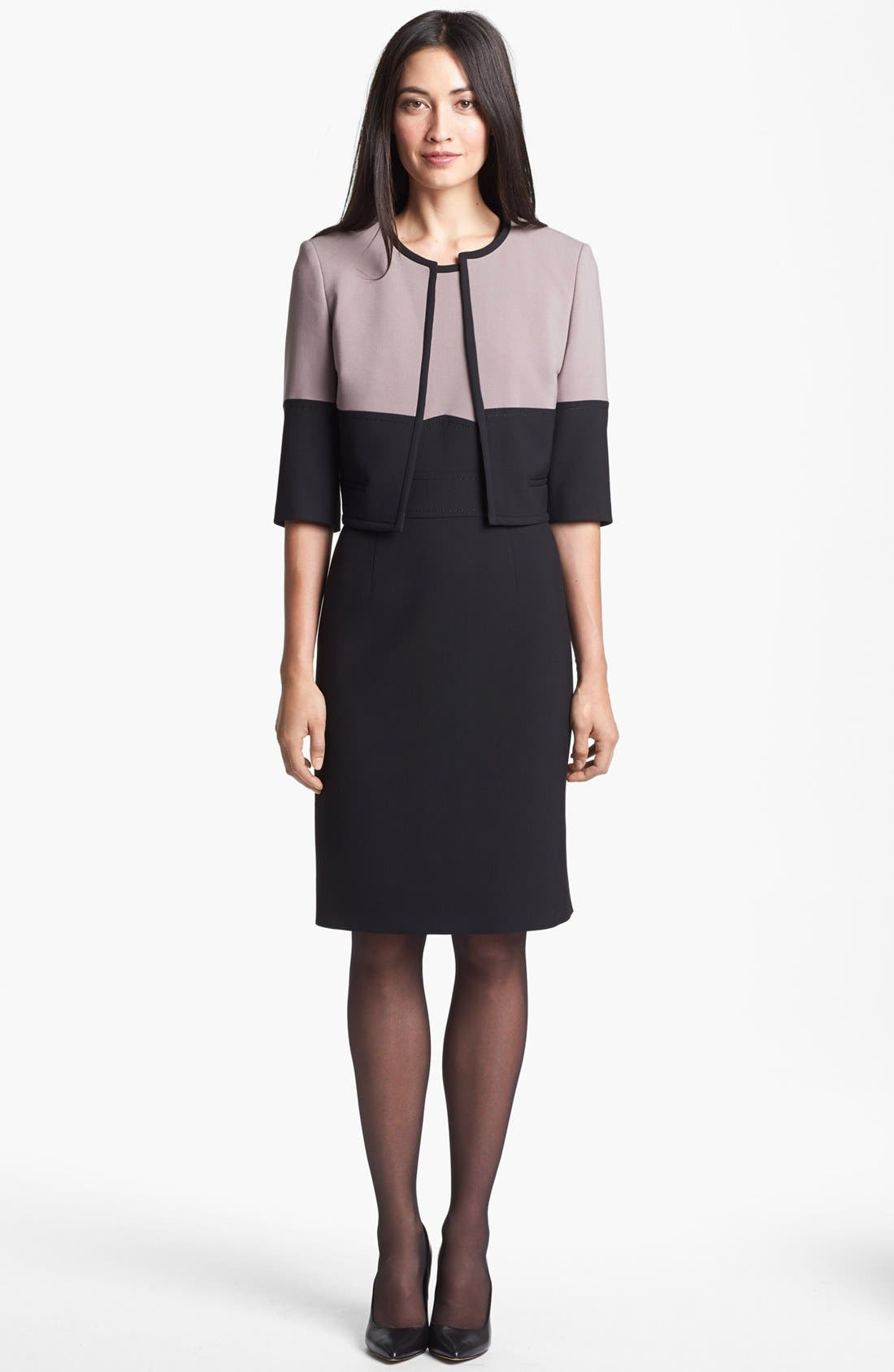 Alternate Image 3  - BOSS HUGO BOSS 'Dalota' Sheath Dress