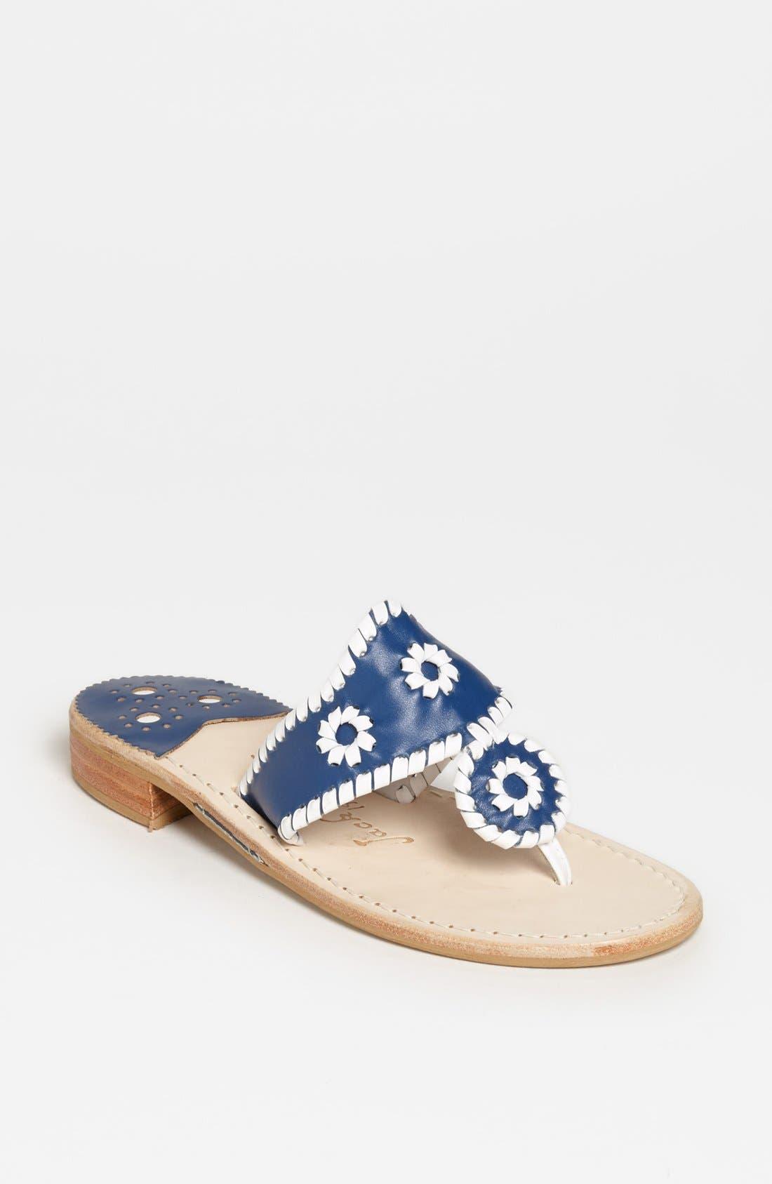 Alternate Image 1 Selected - Jack Rogers 'Palm Beach' Sandal