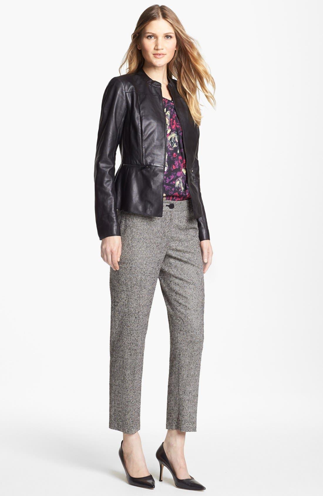 Alternate Image 3  - Classiques Entier® 'Lamb Moss' Leather Jacket