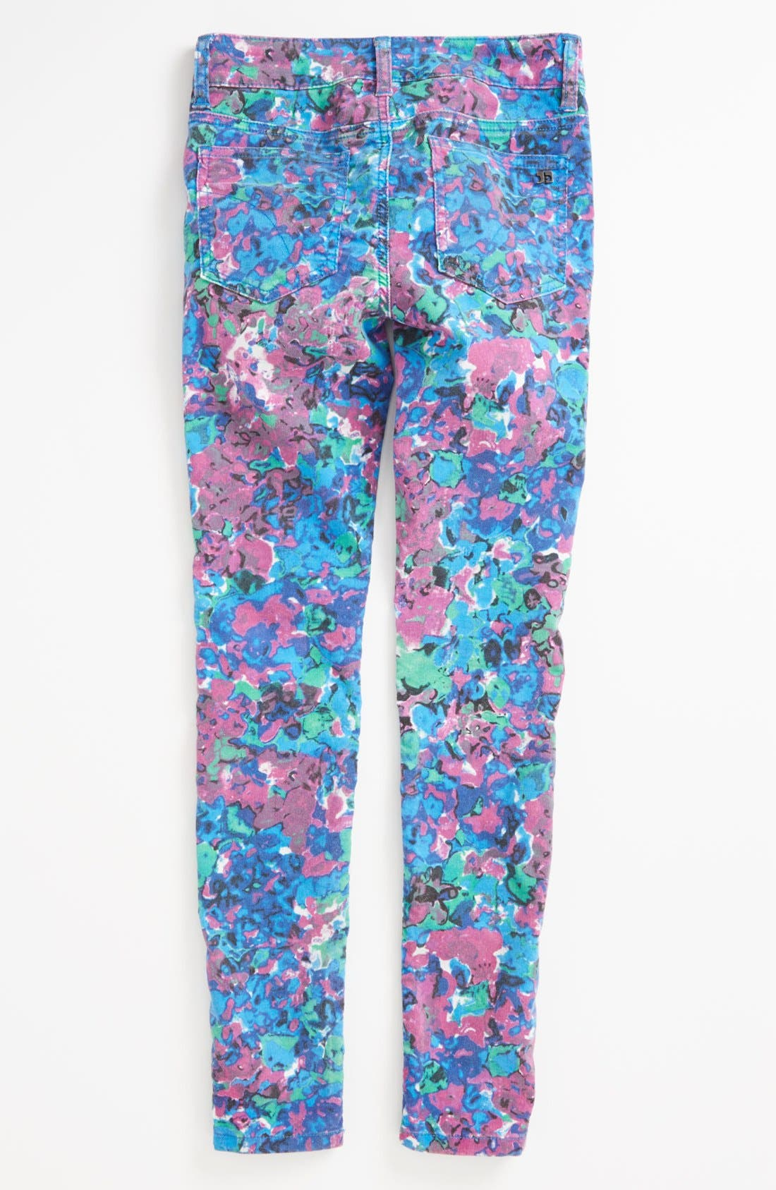 Alternate Image 1 Selected - Joe's Print Corduroy Jeggings (Little Girls & Big Girls)