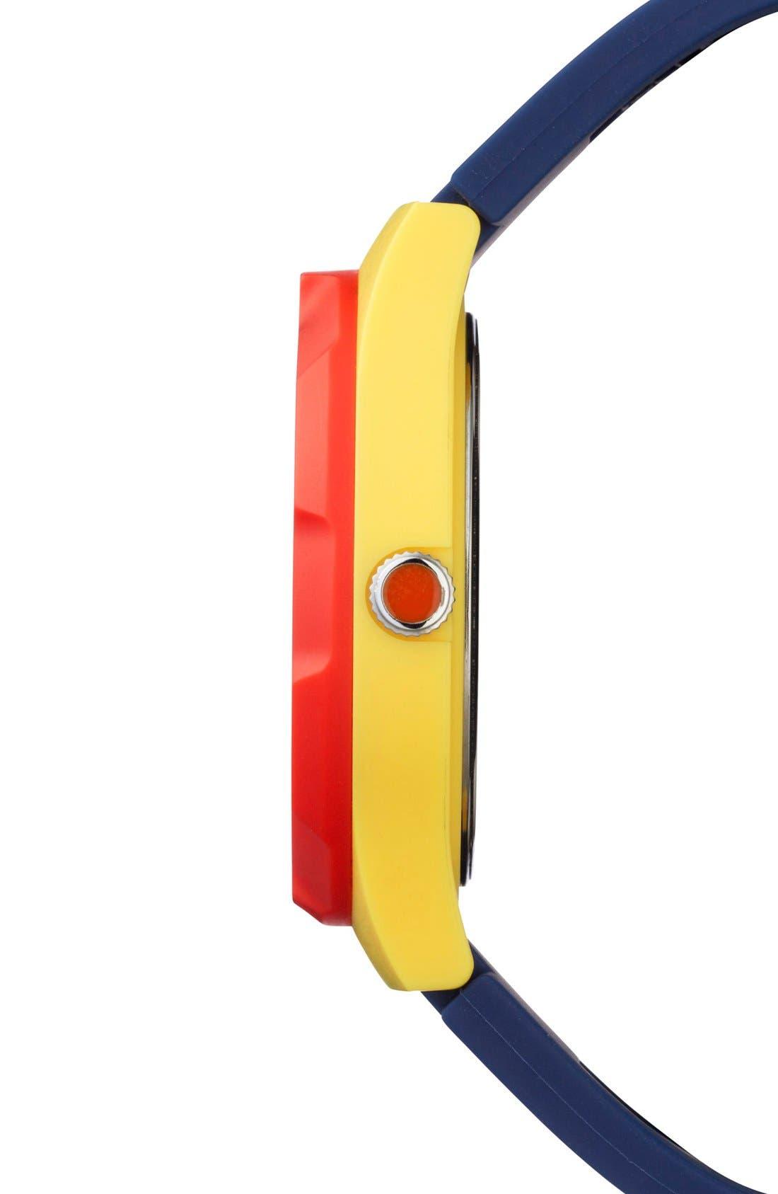 Alternate Image 2  - Jack Spade 'Graphic' Colorblock Watch, 38mm