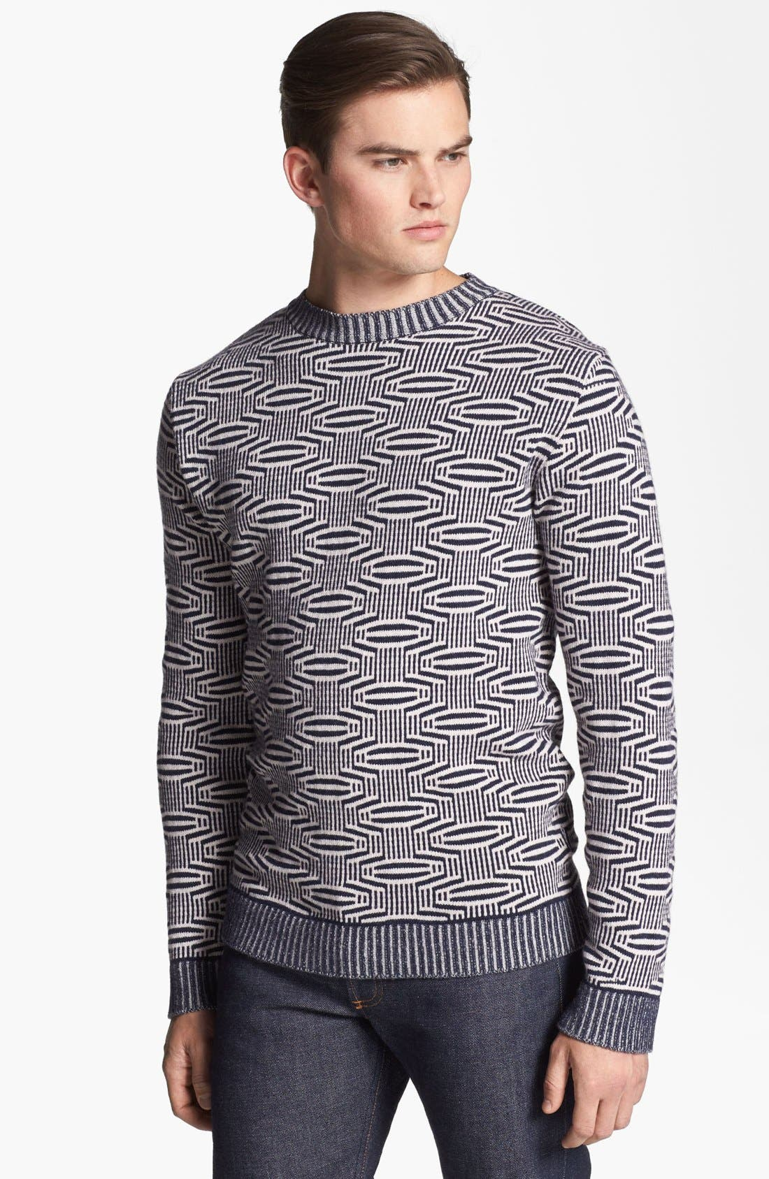 Alternate Image 1 Selected - PS Paul Smith Wool Crewneck Sweater