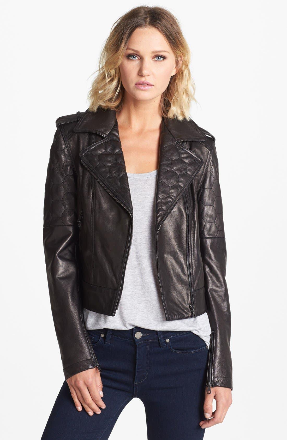 Alternate Image 1 Selected - Paige Denim 'Sacha' Leather Jacket