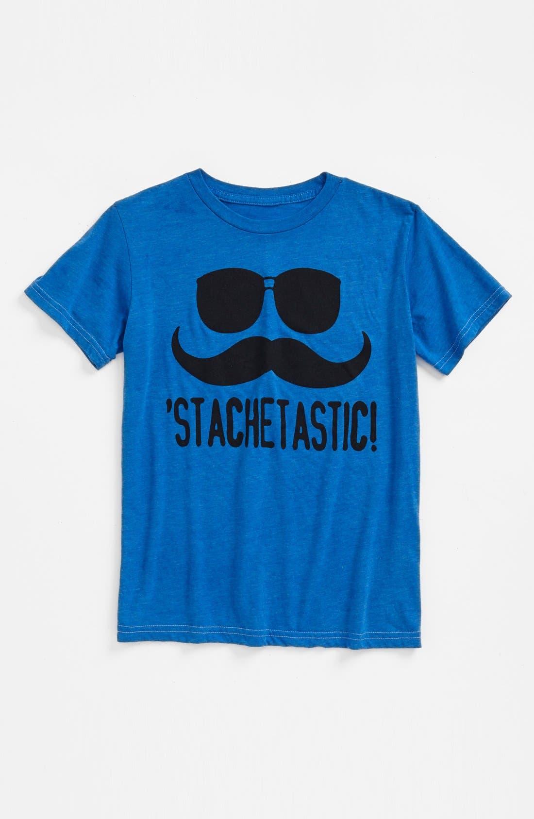 Alternate Image 1 Selected - Jem 'Stachetastic' Screenprint T-Shirt (Big Boys)