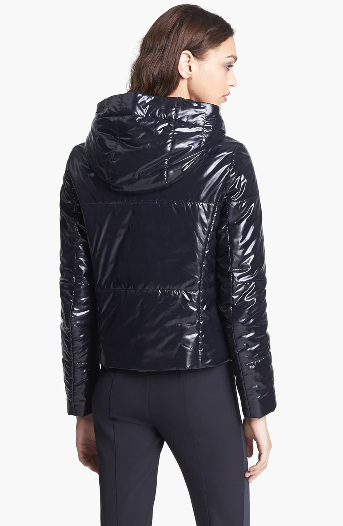 Alternate Image 4  - Miss Wu Tech Nylon Puffer Jacket (Nordstrom Exclusive)