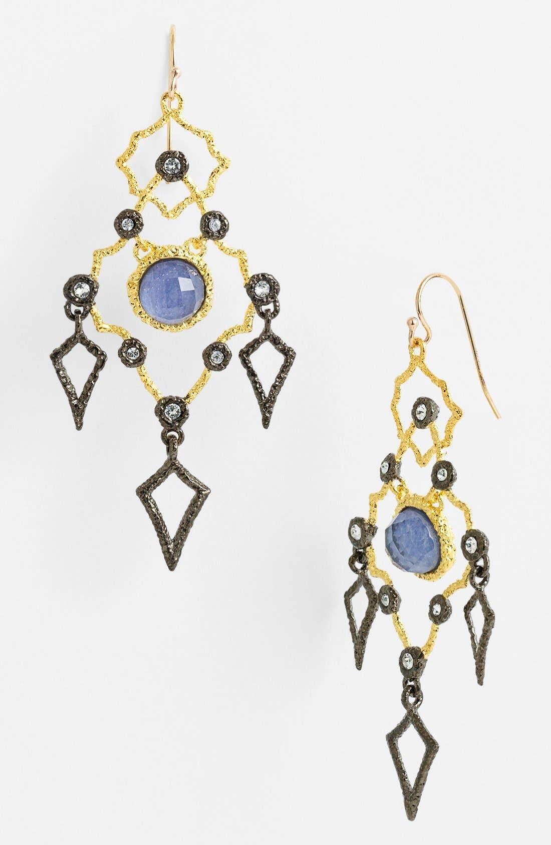 Alternate Image 1 Selected - Alexis Bittar 'Elements - Jardin de Papillon' Chandelier Earrings