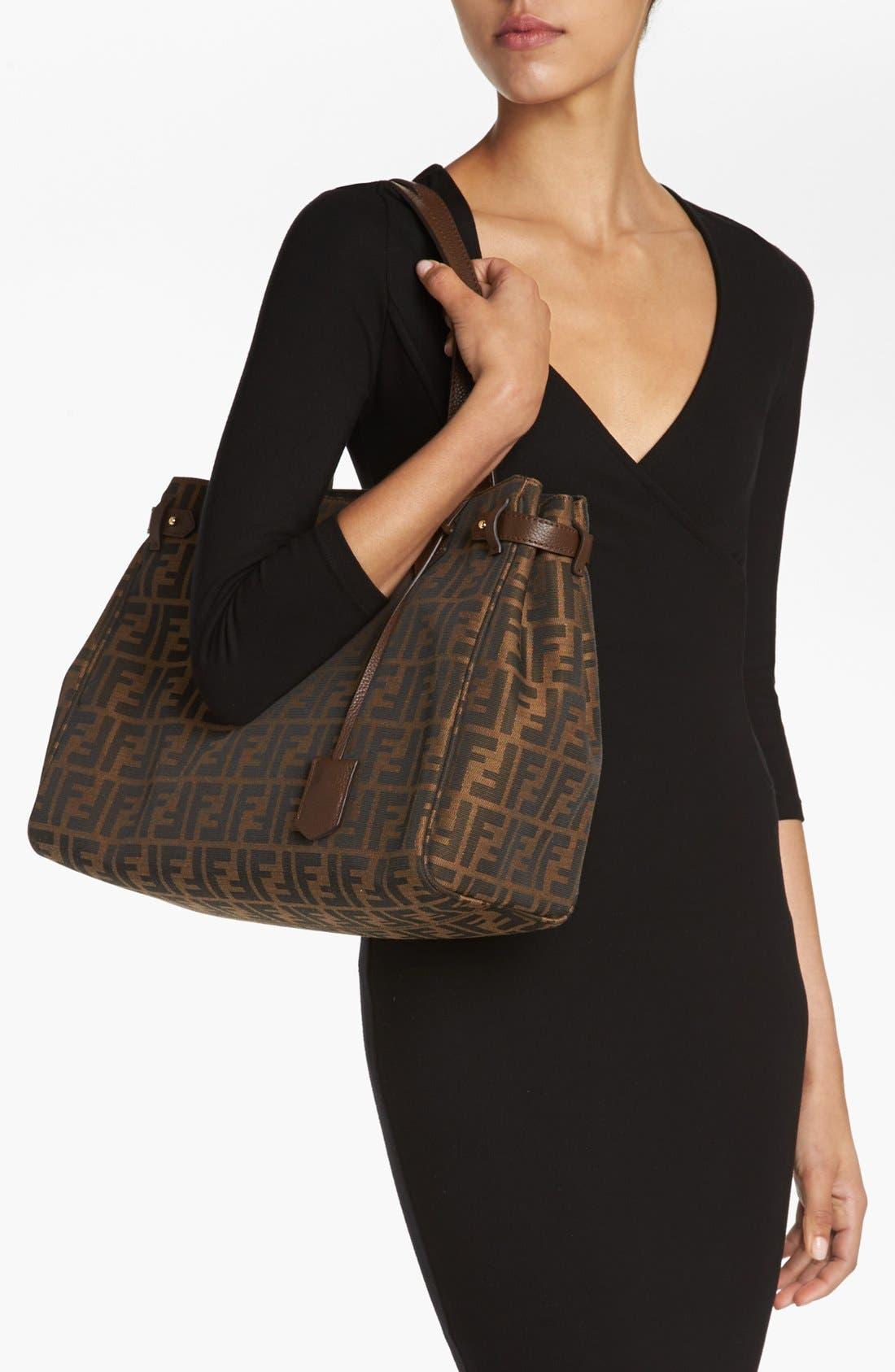Alternate Image 2  - Fendi 'Large Zucca' Shopper