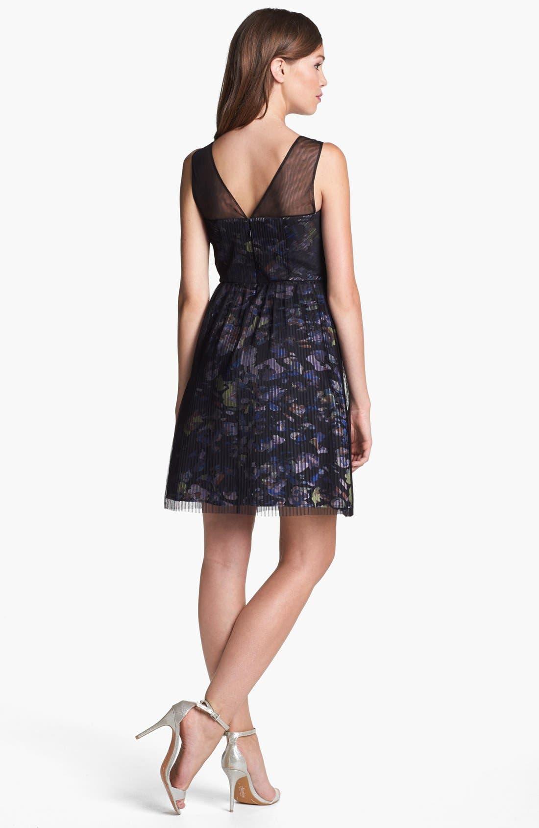 Alternate Image 2  - BCBGMAXAZRIA 'Illusion' Dress