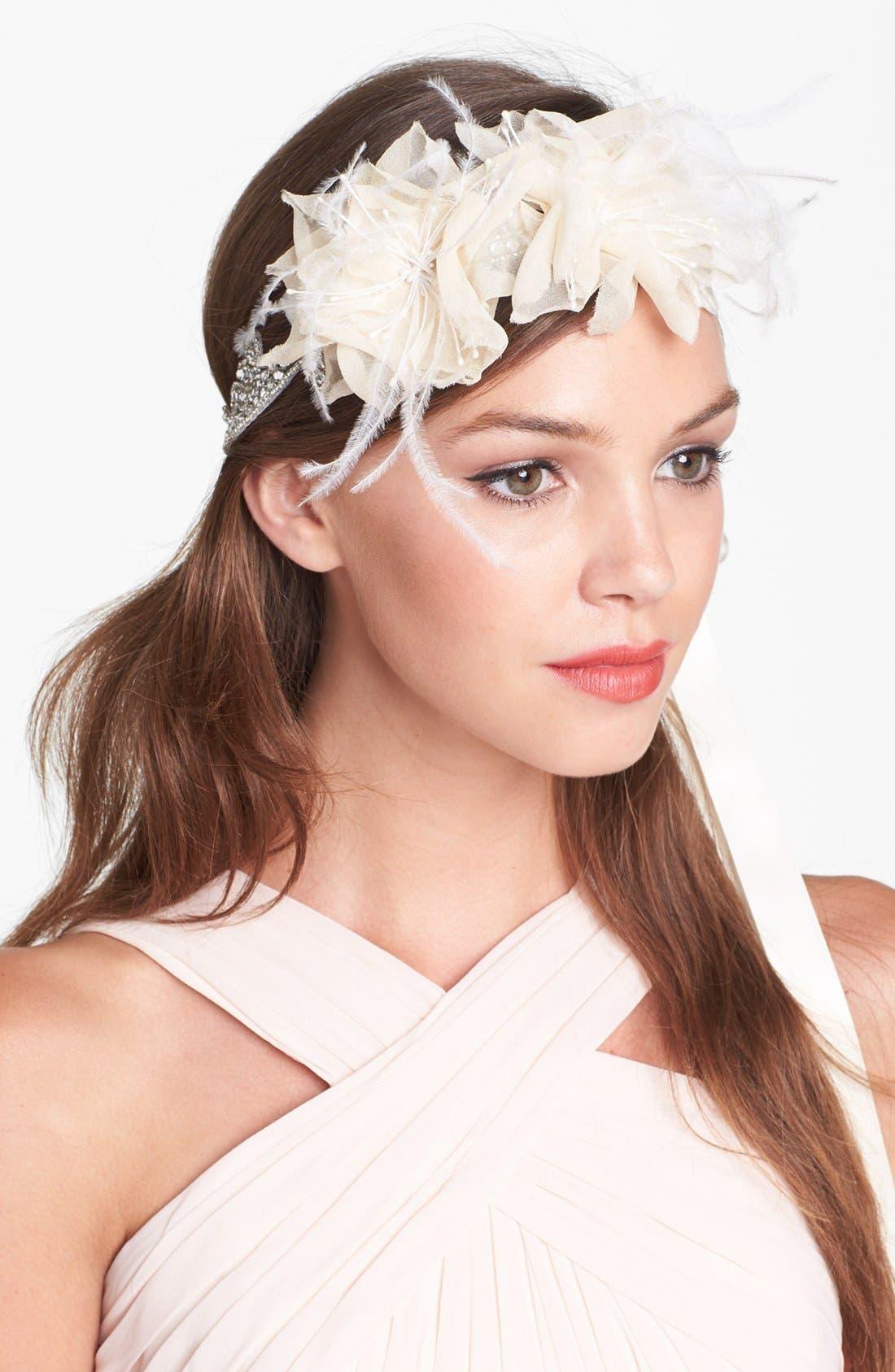 Alternate Image 1 Selected - Serephine 'Rosalie' Bridal Sash