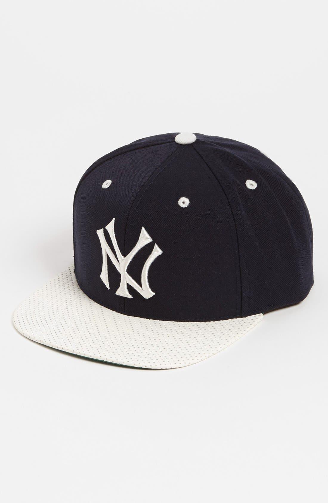 Main Image - American Needle 'New York Yankees - The Natural' Snapback Baseball Cap