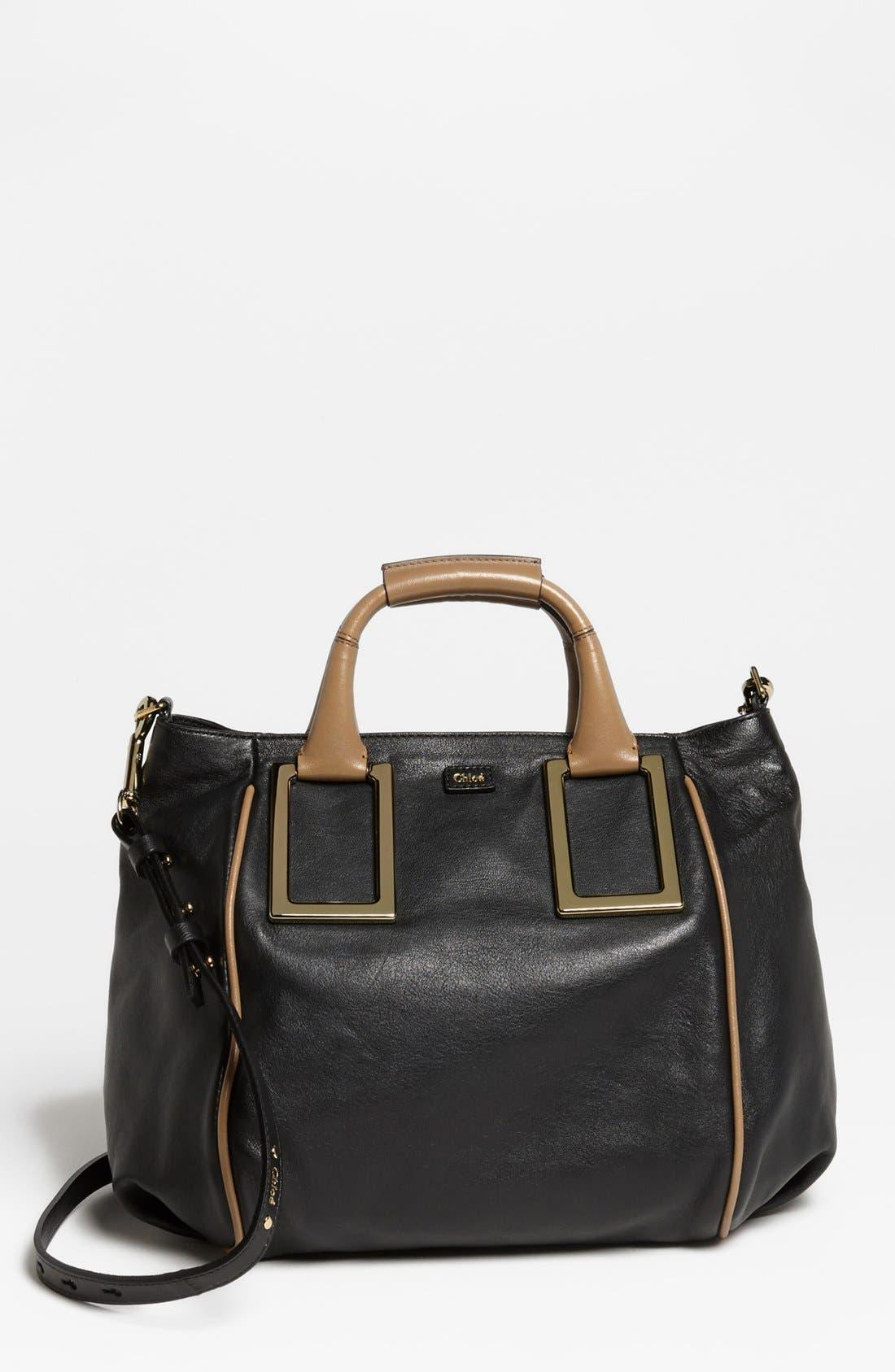 Alternate Image 1 Selected - Chloé 'Ethel - Medium' Leather Tote