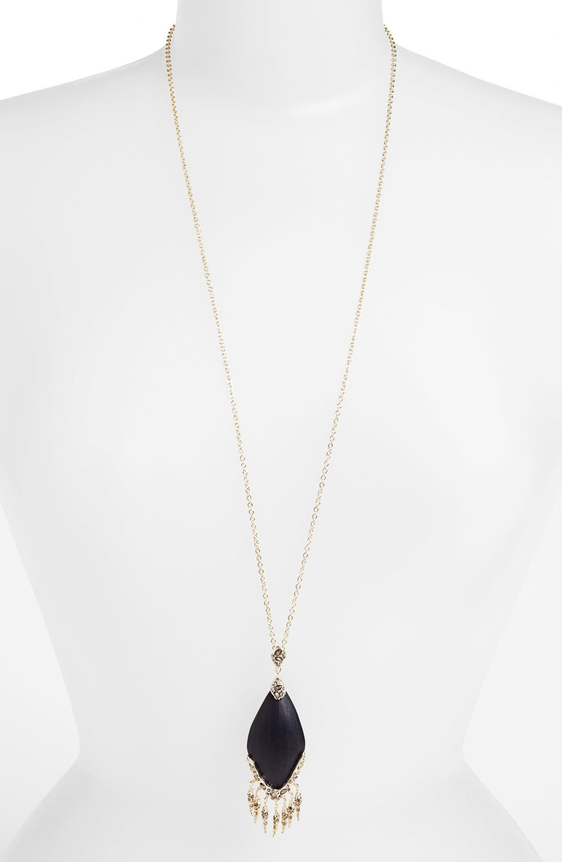 Alternate Image 1 Selected - Alexis Bittar 'Lucite® - Neo Bohemian' Long Fringe Pendant Necklace
