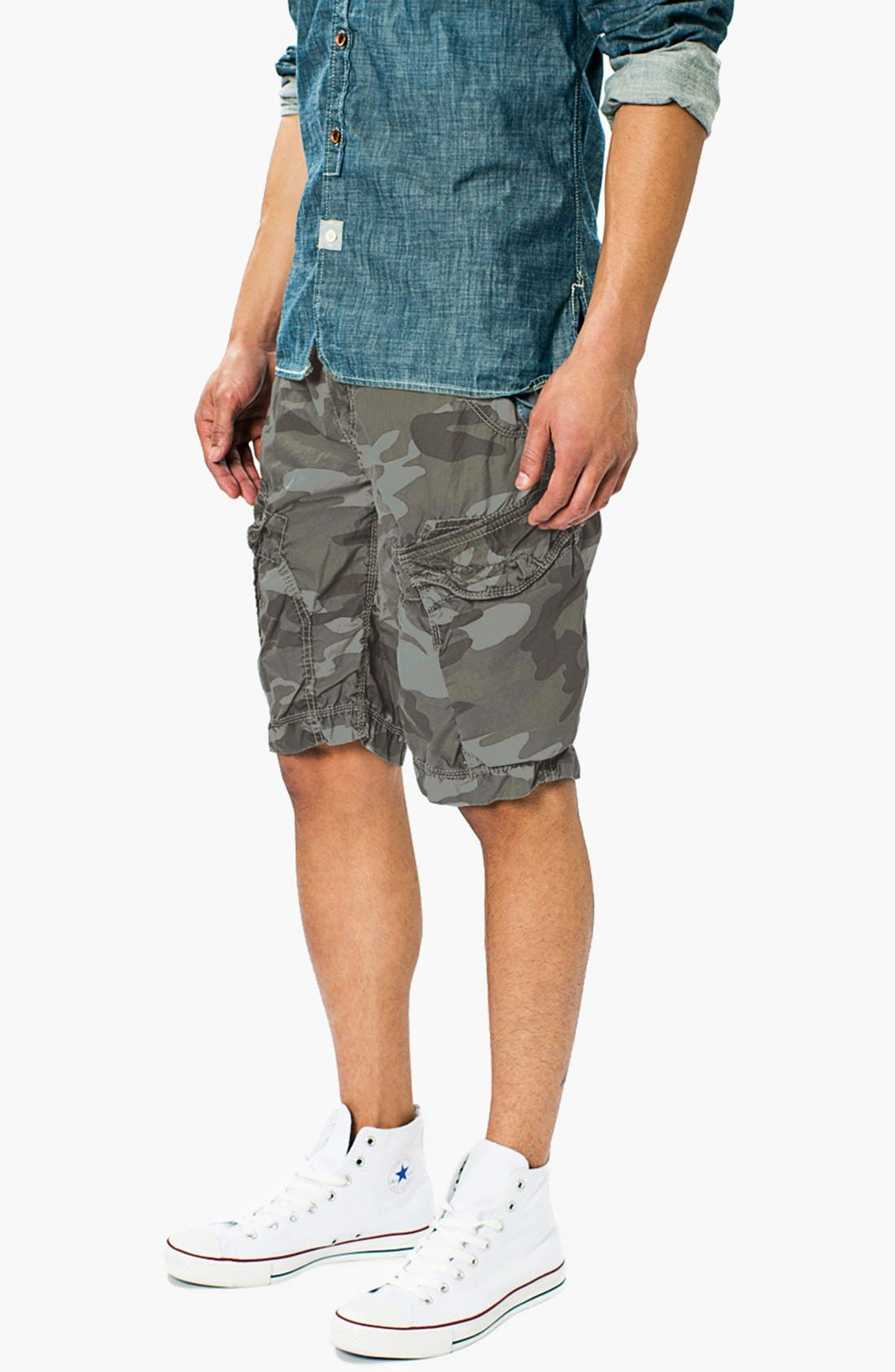 Alternate Image 2  - Union 'New Duke' Camo Cargo Shorts