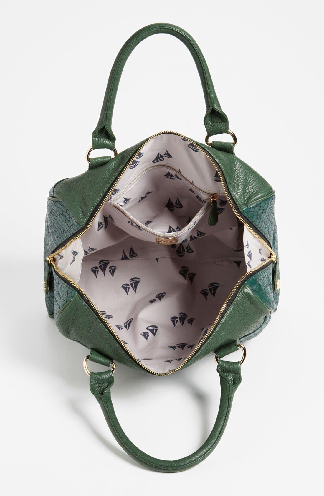 Alternate Image 3  - pretty ships 'Cayenne' Woven Handbag