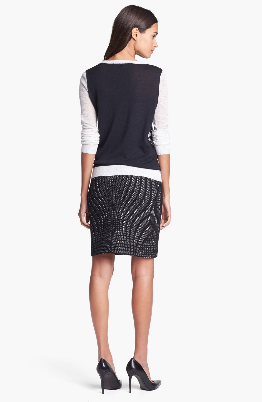 Alternate Image 2  - Diane von Furstenberg 'Mae' Pencil Skirt