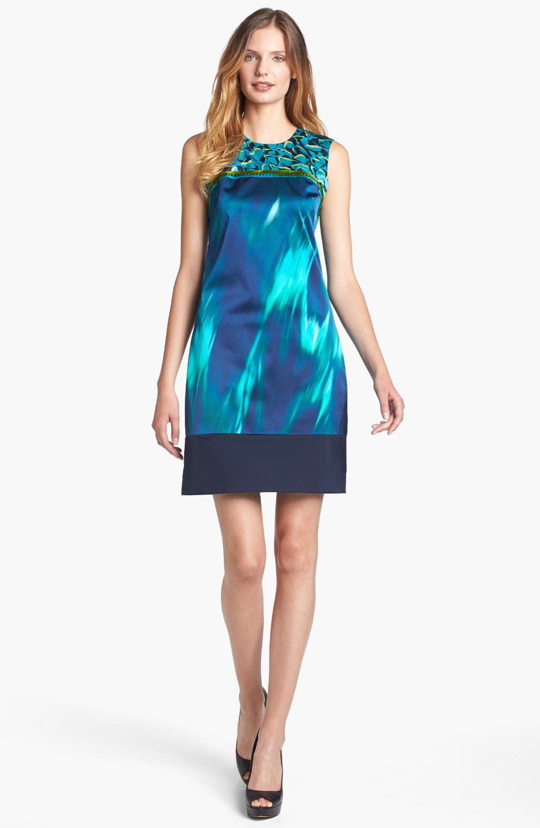 Alternate Image 1 Selected - Elie Tahari 'Ginny - Pebble Weave' Dress