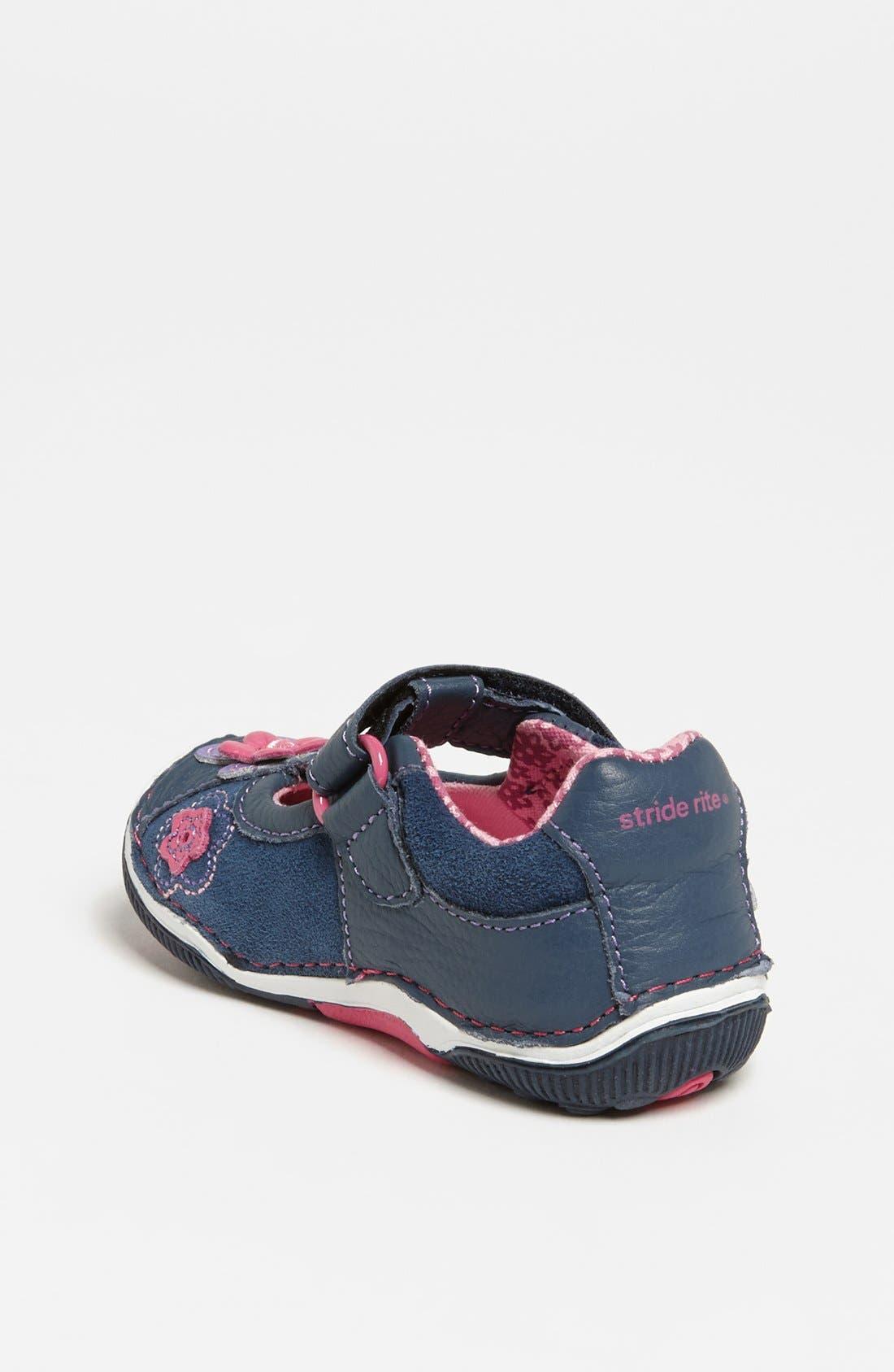 Alternate Image 2  - Stride Rite 'Meadow' Sneaker (Baby, Walker & Toddler)