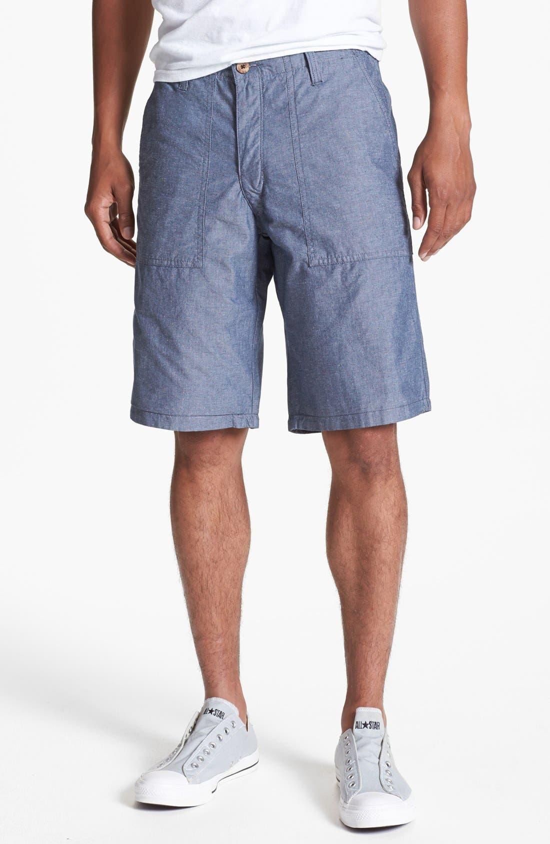 Alternate Image 1 Selected - Dockers® Reversible Flat Front Shorts