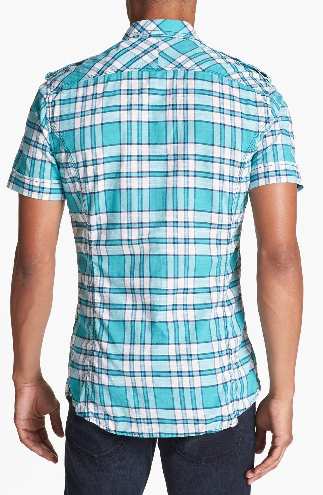 Alternate Image 2  - DIESEL® 'Sadela' Yarn Dyed Check Woven Shirt