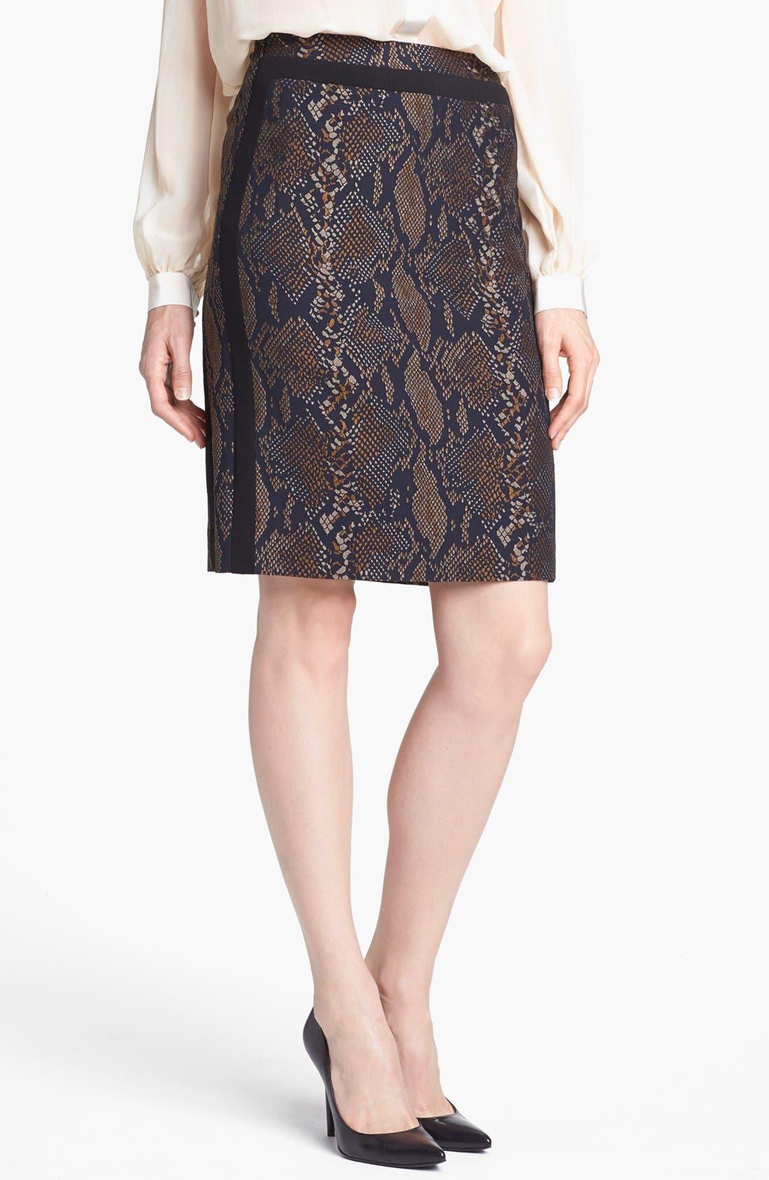 Alternate Image 1 Selected - Diane von Furstenberg 'Marta' Pencil Skirt