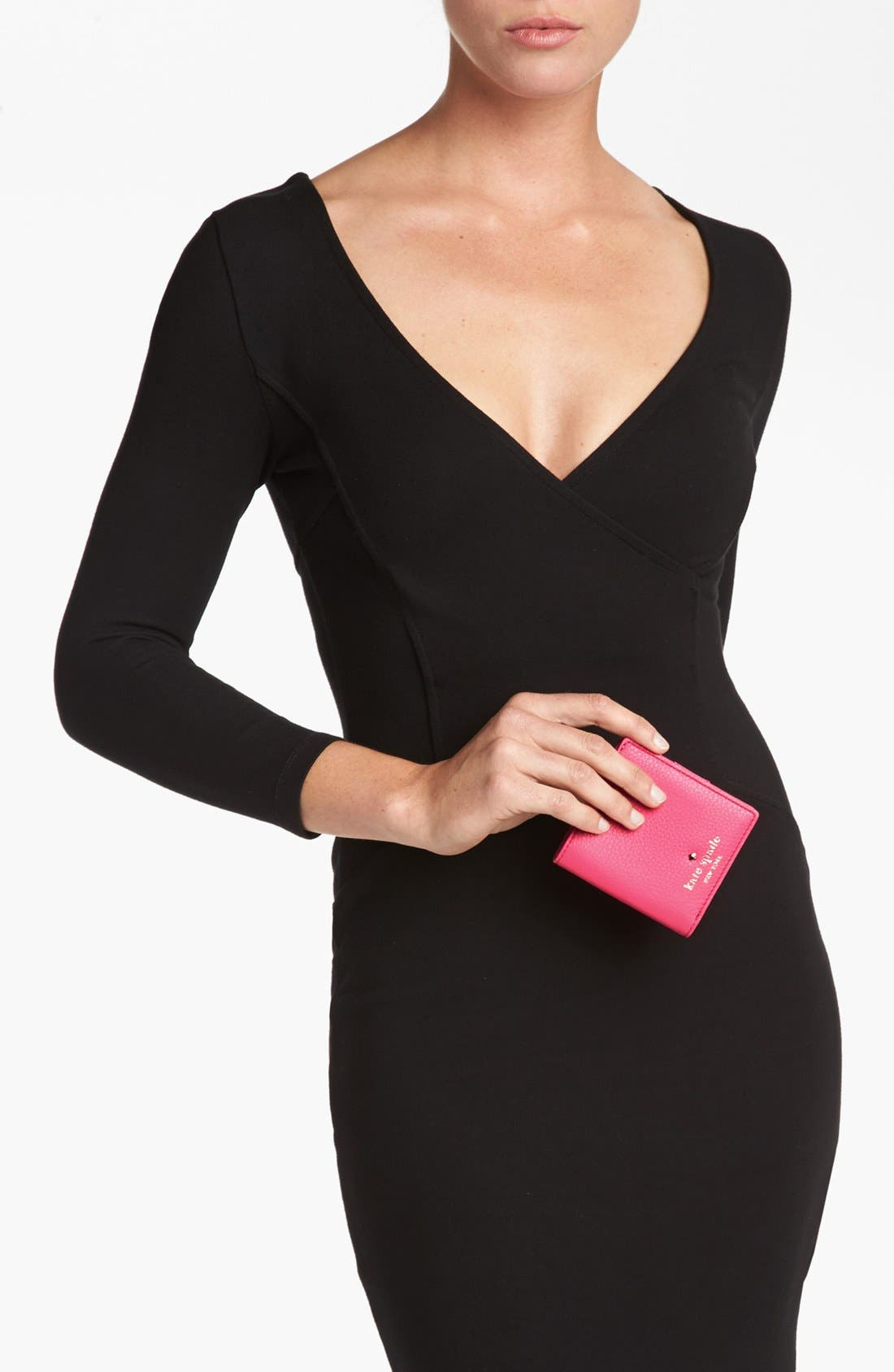 Alternate Image 2  - kate spade new york 'cobble hill - small stacy' leather wallet