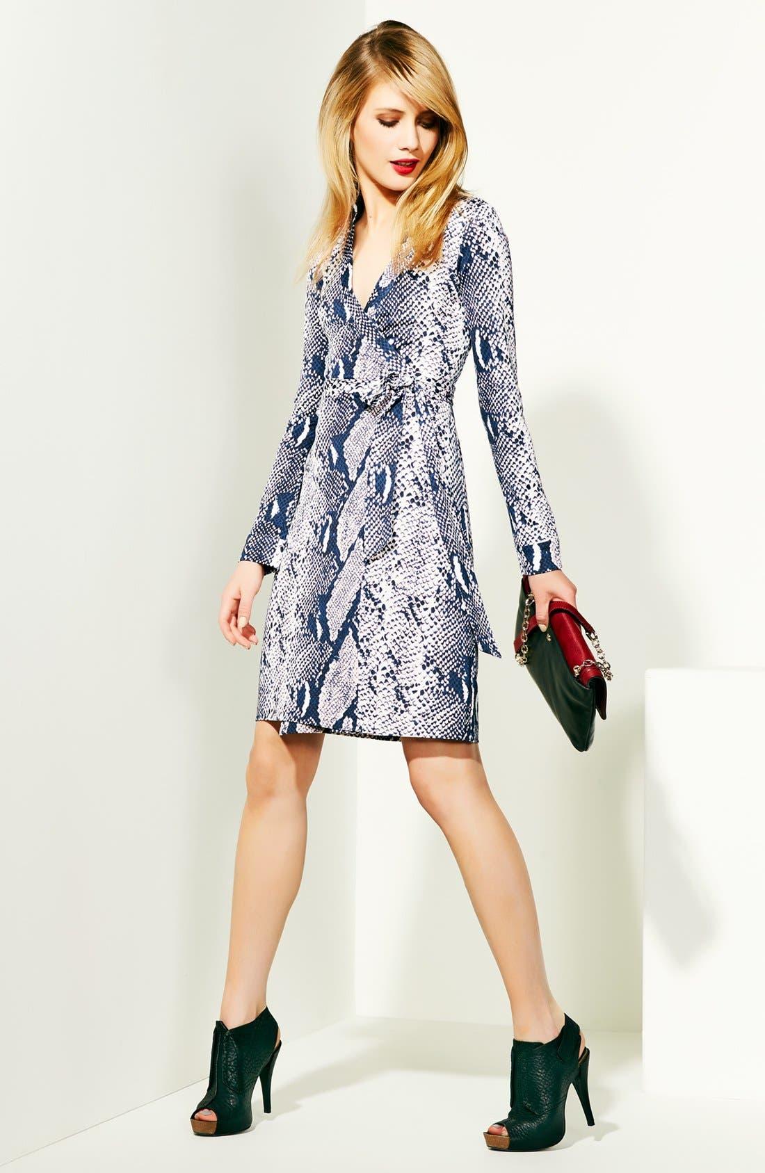Alternate Image 5  - Diane von Furstenberg 'New Jeanne 2' Silk Jersey Wrap Dress