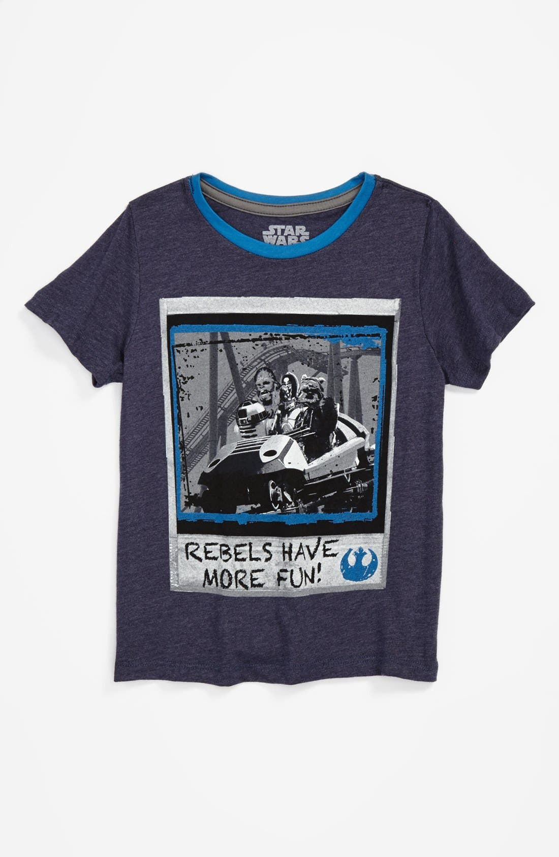 Alternate Image 1 Selected - Mighty Fine 'Rebels Have More Fun' T-Shirt (Little Boys)