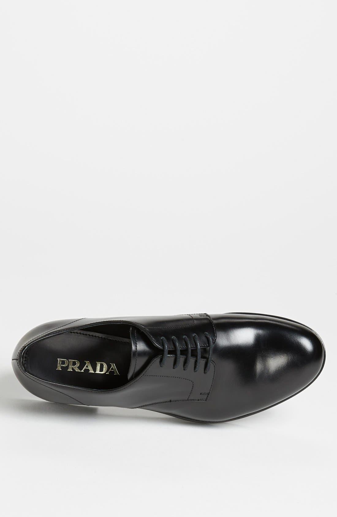 Alternate Image 3  - Prada Plain Toe Derby
