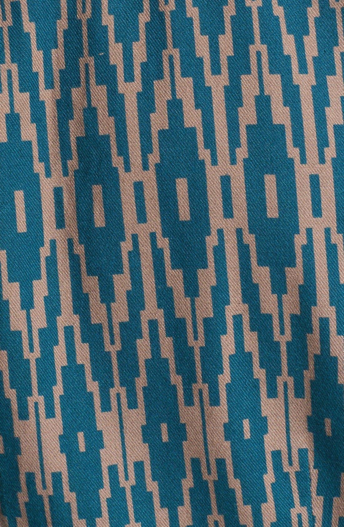 Alternate Image 2  - life/after/denim 'Silverlake' Print Flannel Shirt