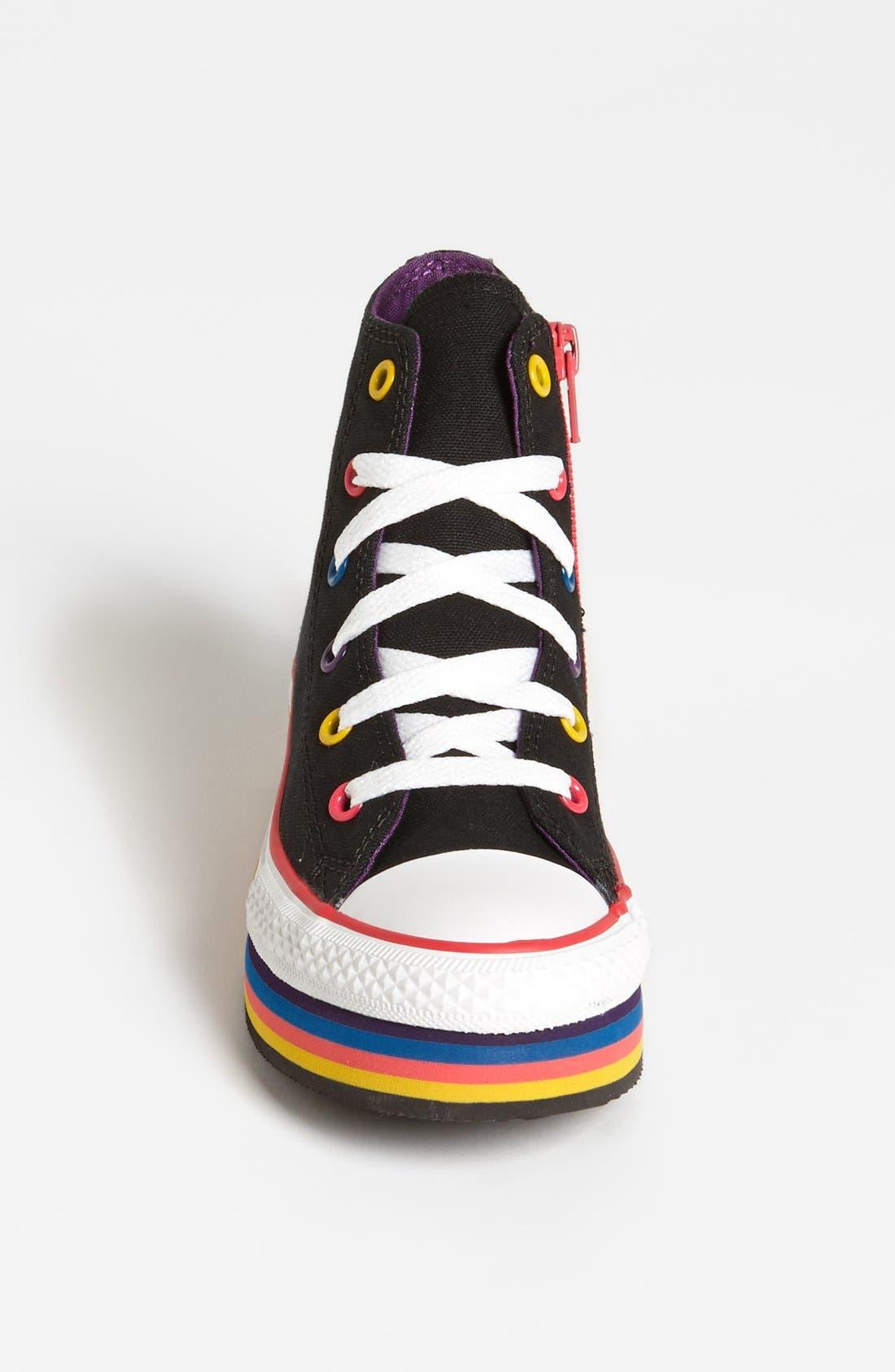 Alternate Image 3  - Converse Chuck Taylor® All Star® Platform Sneaker (Toddler, Little Kid & Big Kid)