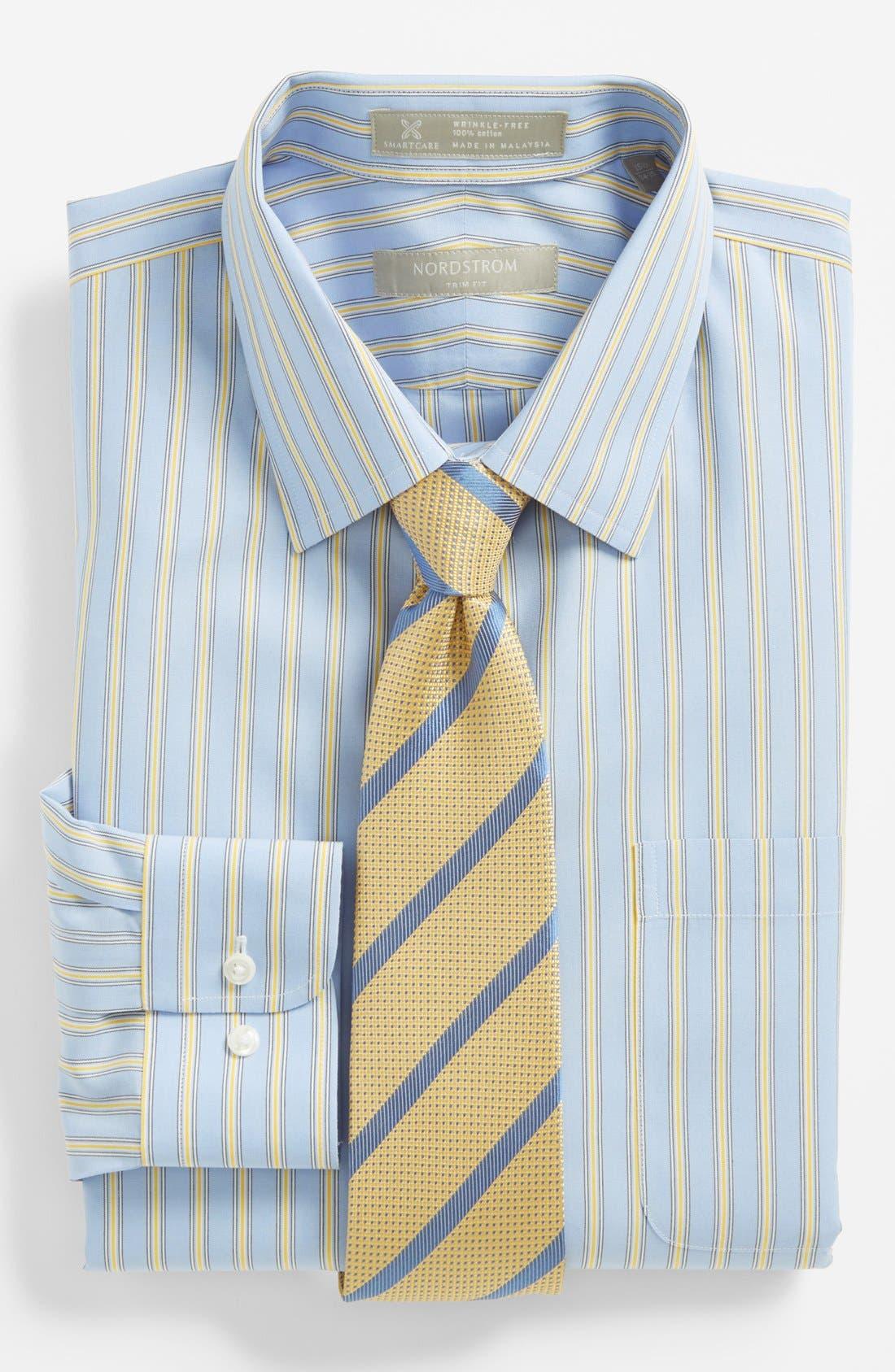 Alternate Image 3  - Nordstrom Smartcare™ Trim Fit Dress Shirt