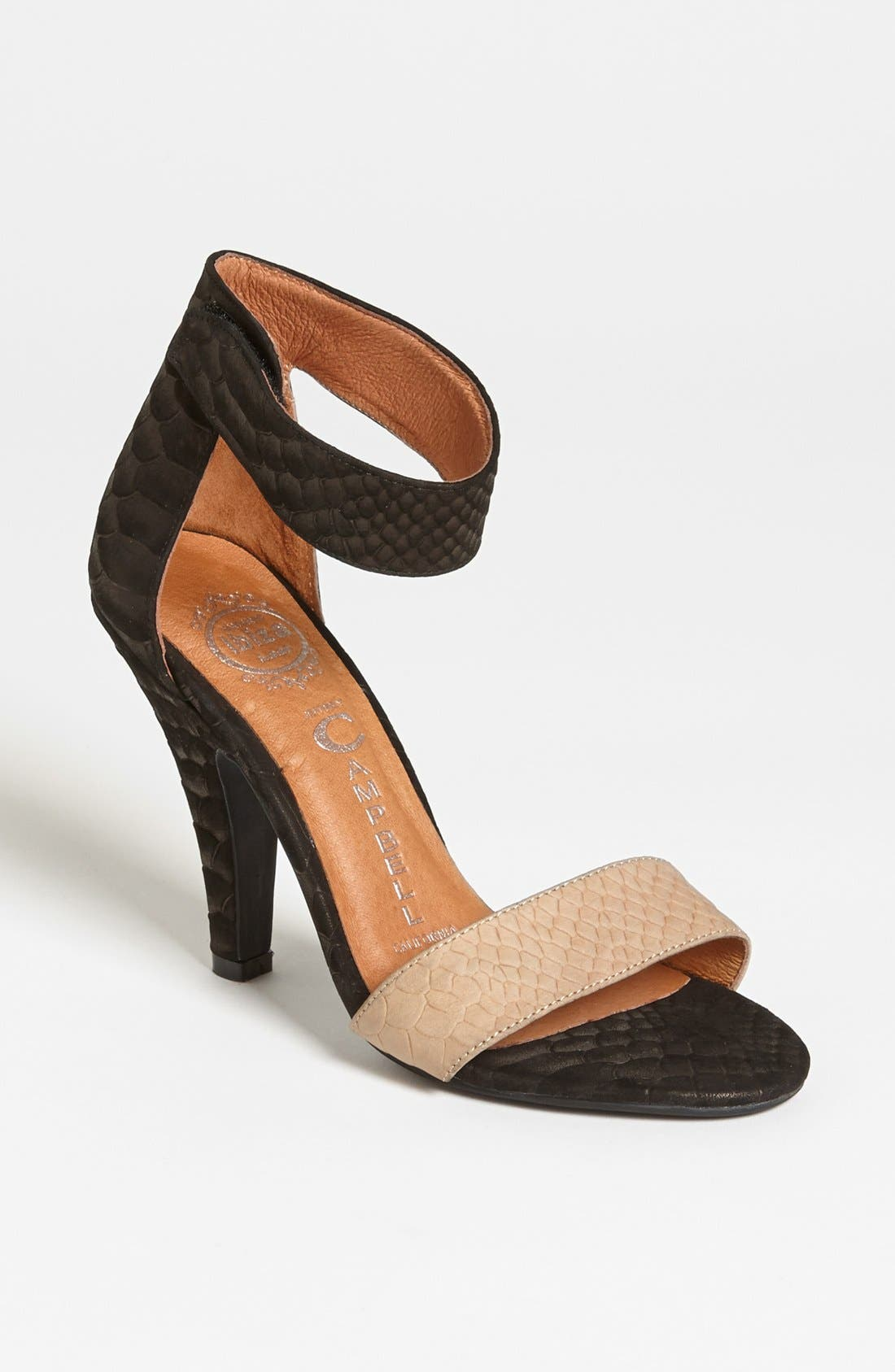 Alternate Image 1 Selected - Jeffrey Campbell 'Foxtrot' Sandal