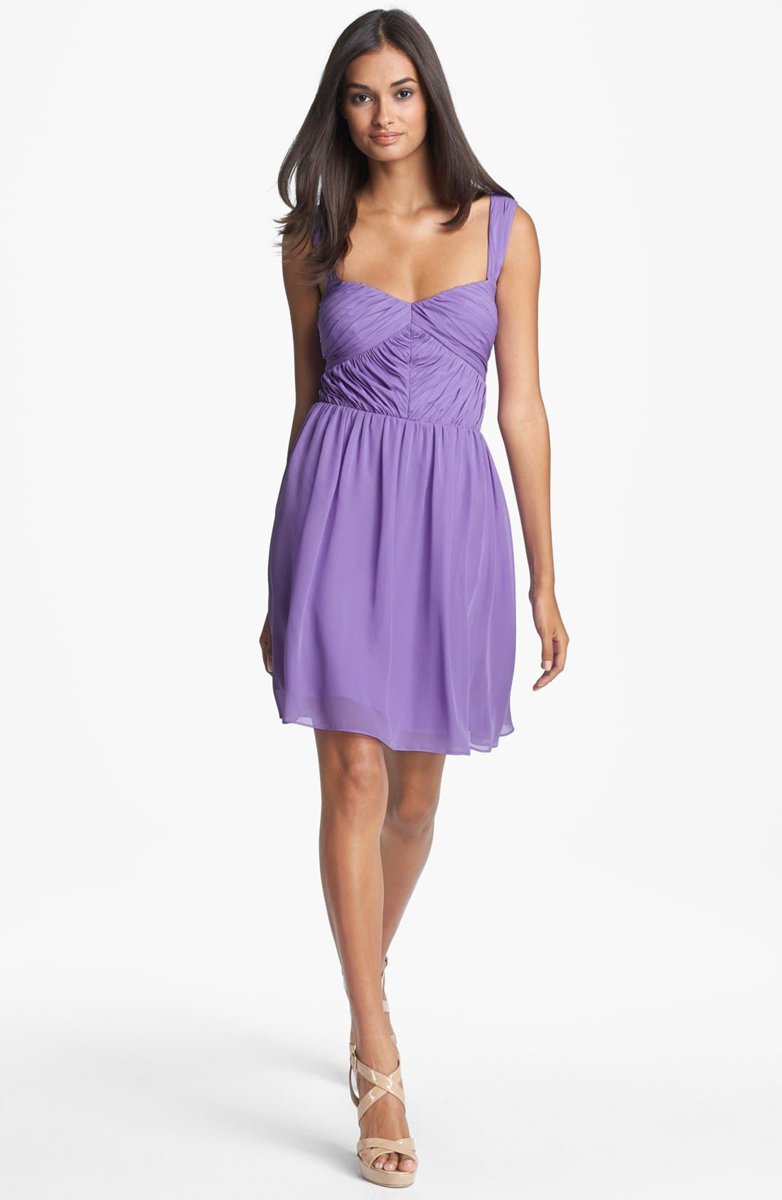 Main Image - Hailey by Adrianna Papell Sweetheart Fit & Flare Dress
