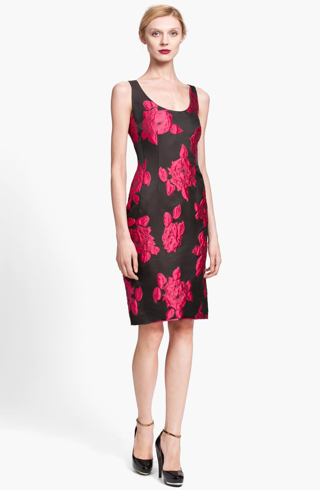 Alternate Image 1 Selected - Lanvin Rose Cocktail Dress