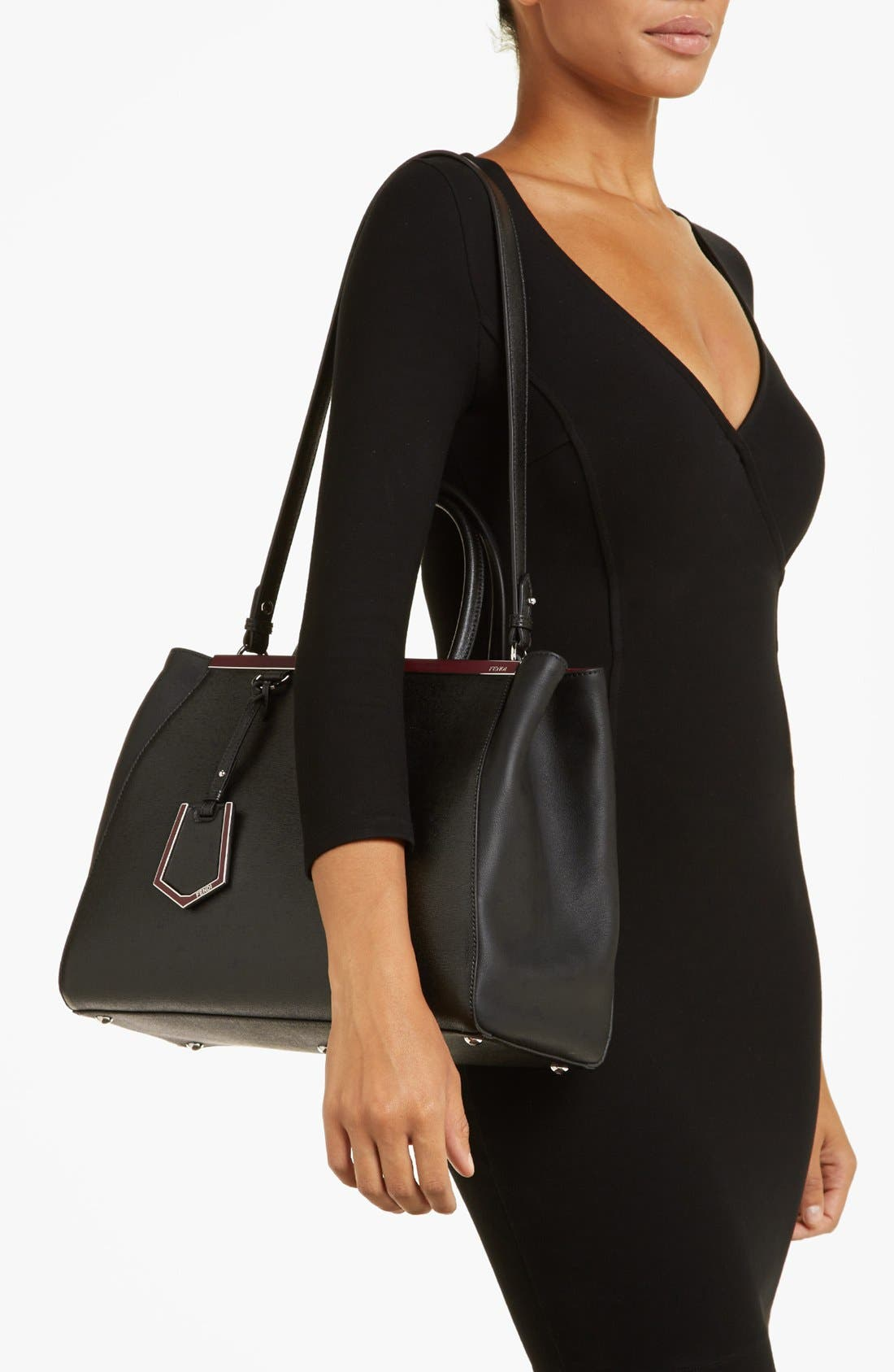 Alternate Image 2  - Fendi '2Jours- Medium' Leather Shopper
