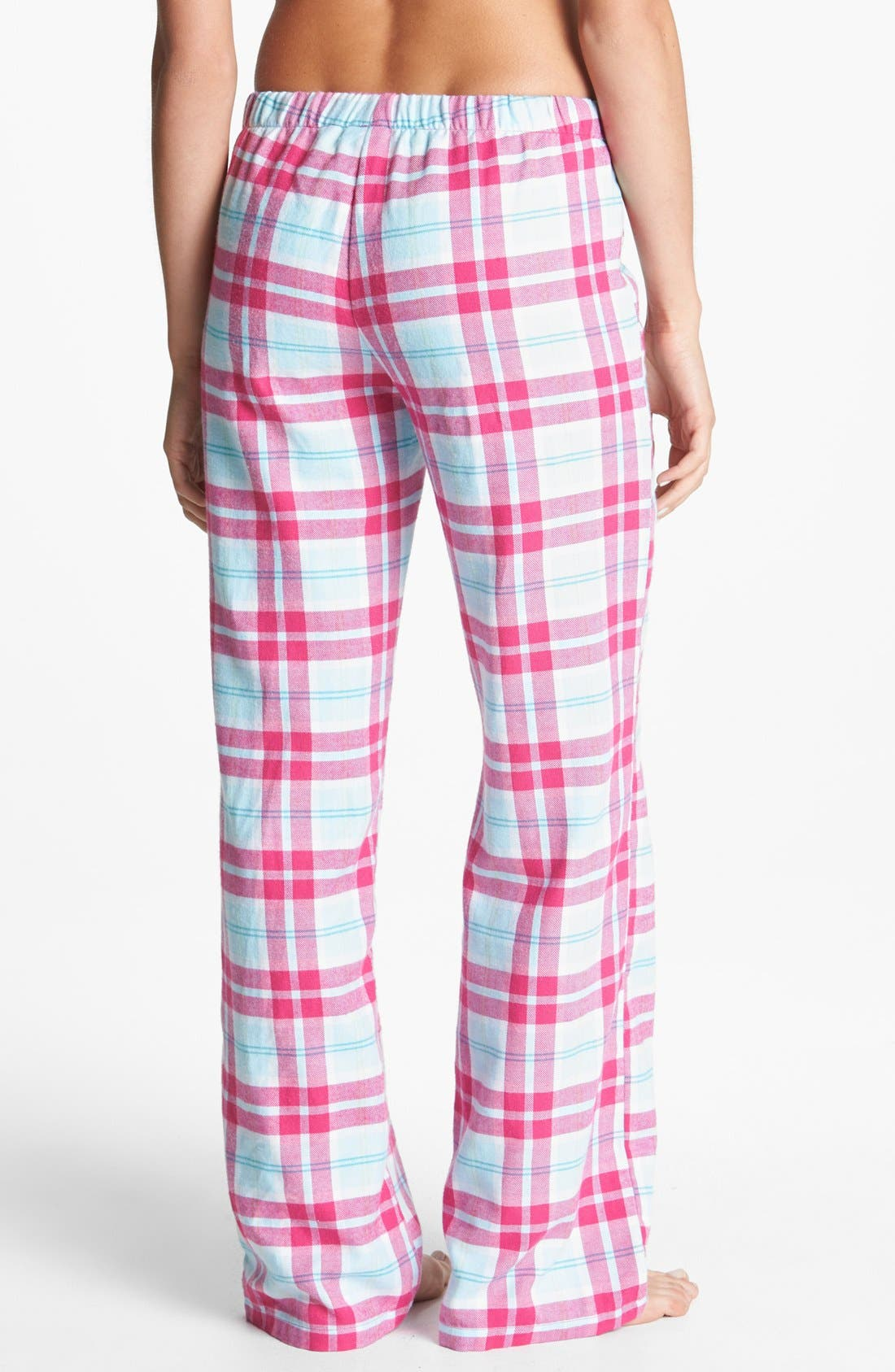Alternate Image 2  - Make + Model Flannel Pants