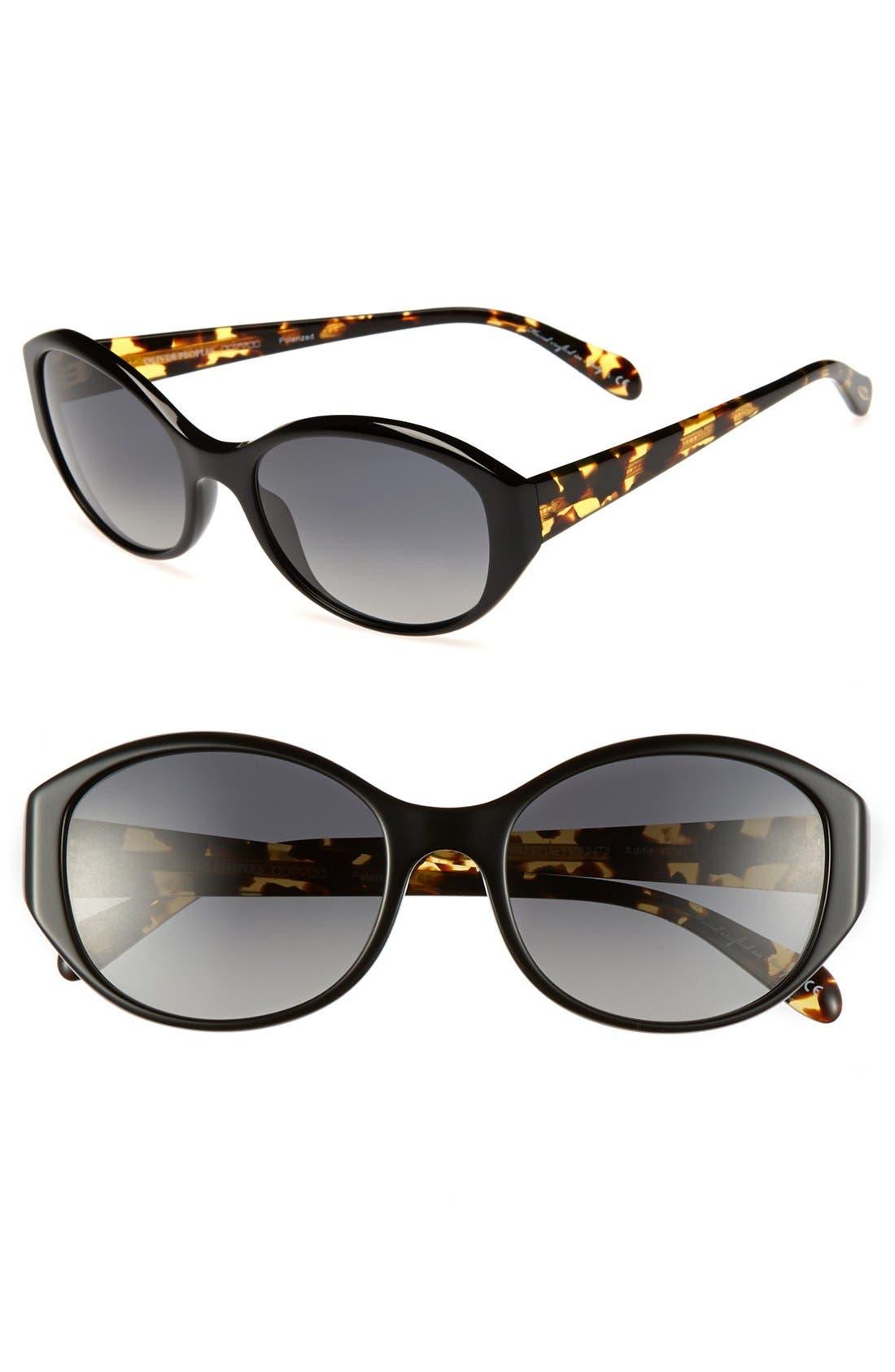 Alternate Image 1 Selected - Oliver Peoples 'Addie' 55mm Sunglasses