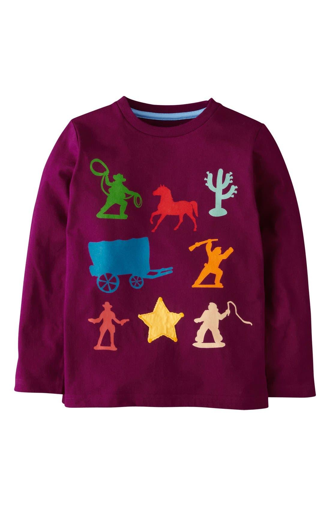 Main Image - Mini Boden 'Multi Logo' Screenprint T-Shirt (Little Boys & Big Boys)