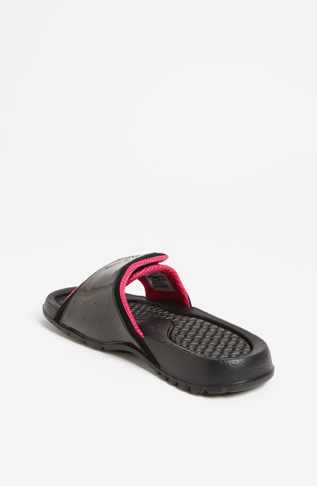 Alternate Image 2  - Nike 'Jordan Hydro II' Sandal (Big Kid)