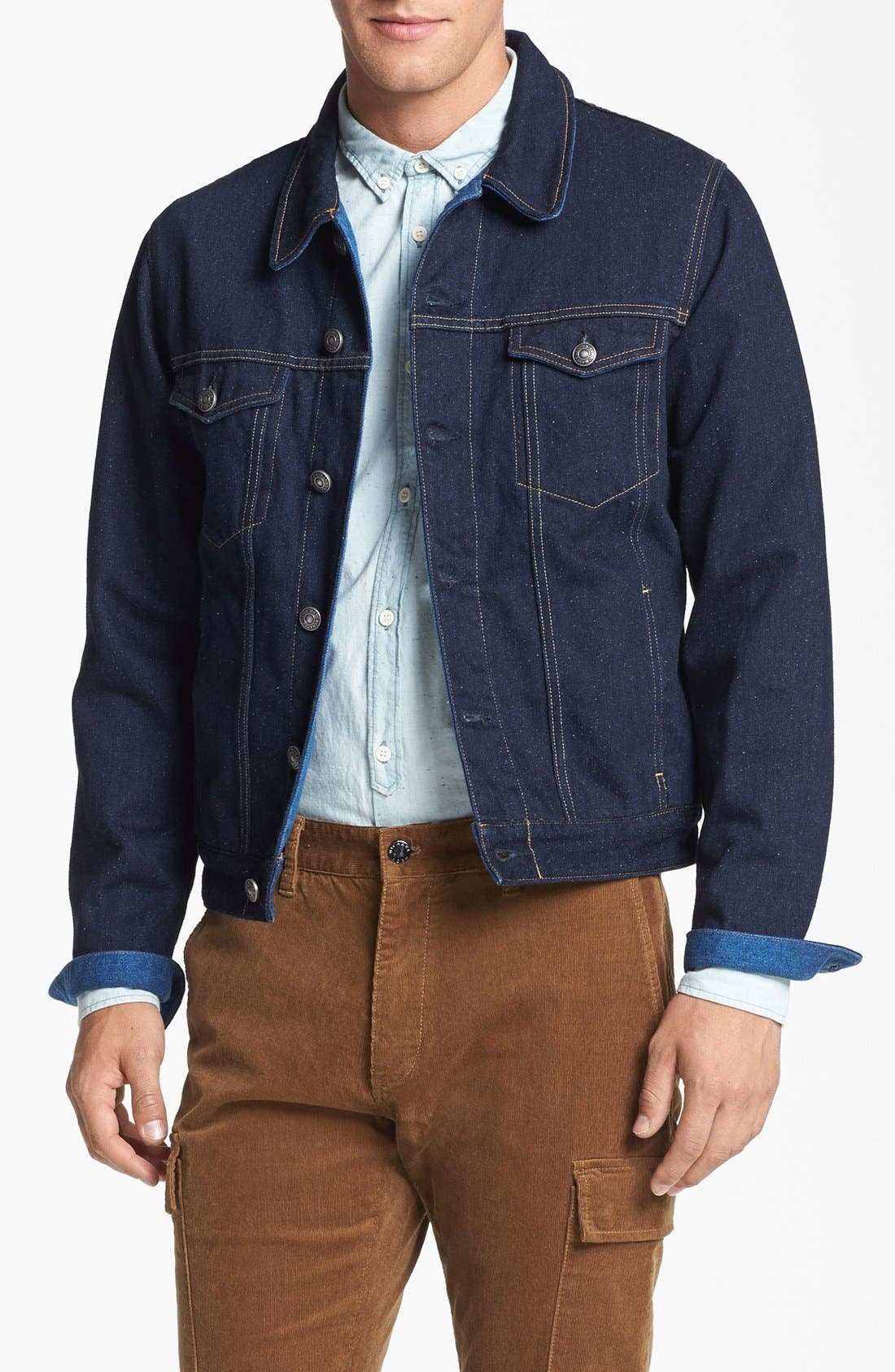 Alternate Image 1 Selected - Levi's® Made & Crafted™ Denim Jacket (Indigo)