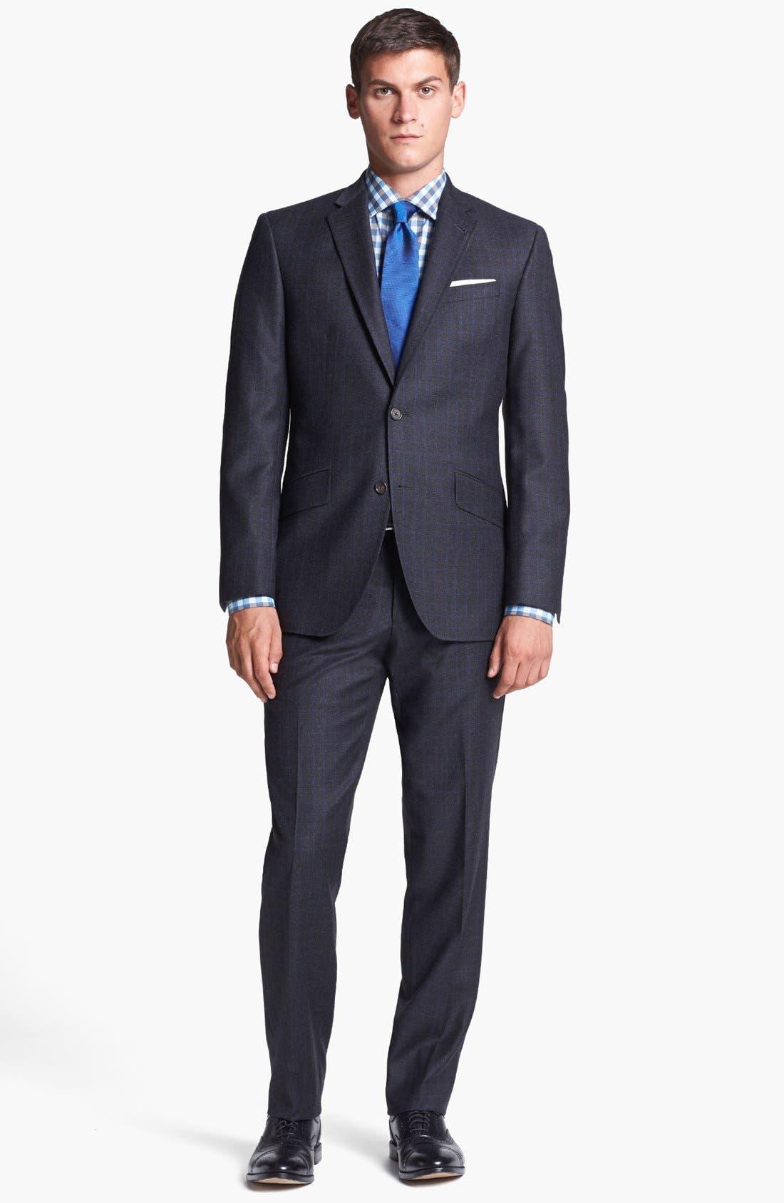 Alternate Image 1 Selected - Ted Baker London Suit & Calibrate Dress Shirt