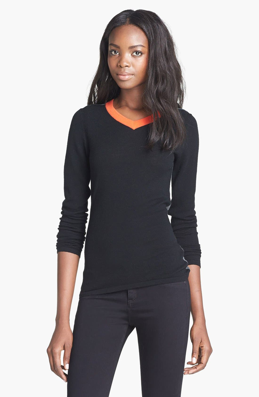 Alternate Image 1 Selected - rag & bone 'Renelle' V-Neck Pullover