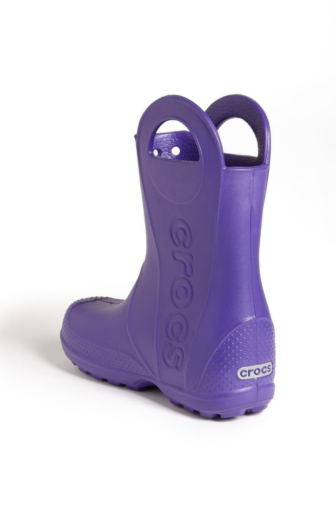 Alternate Image 2  - CROCS™ 'Handle It' Rain Boot (Walker, Toddler & Little Kid)
